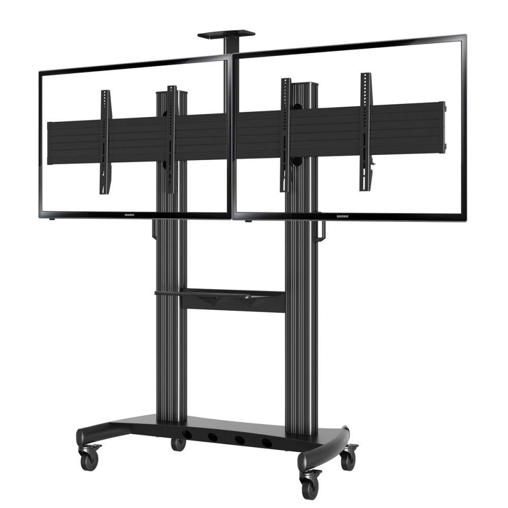 Flooring: Best Tv Floor Stand Ideas On Pinterest Minimalist Design Regarding Dual Tv Stands (View 4 of 15)