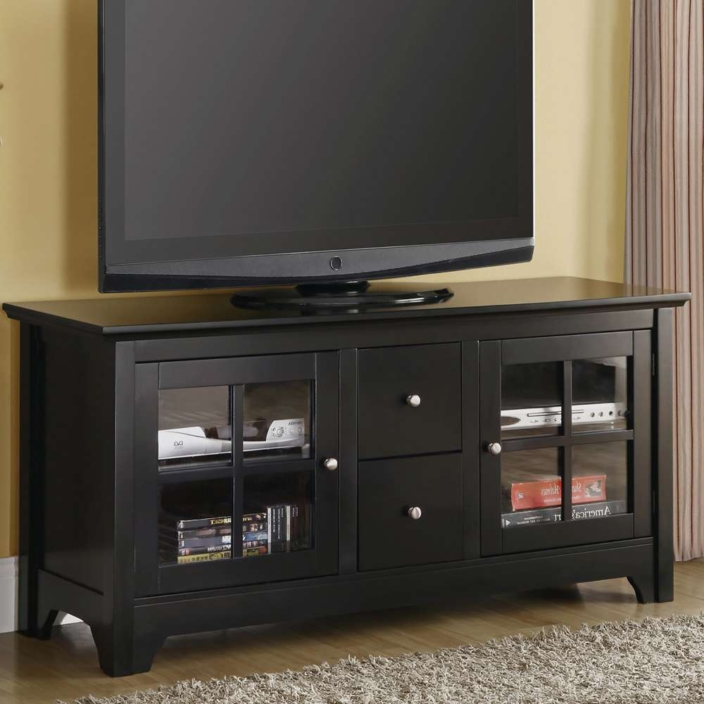 Fresh Simple Kings Brand Cherry Wood Plasma Tv Stand #17118 Within Solid Wood Black Tv Stands (View 2 of 15)