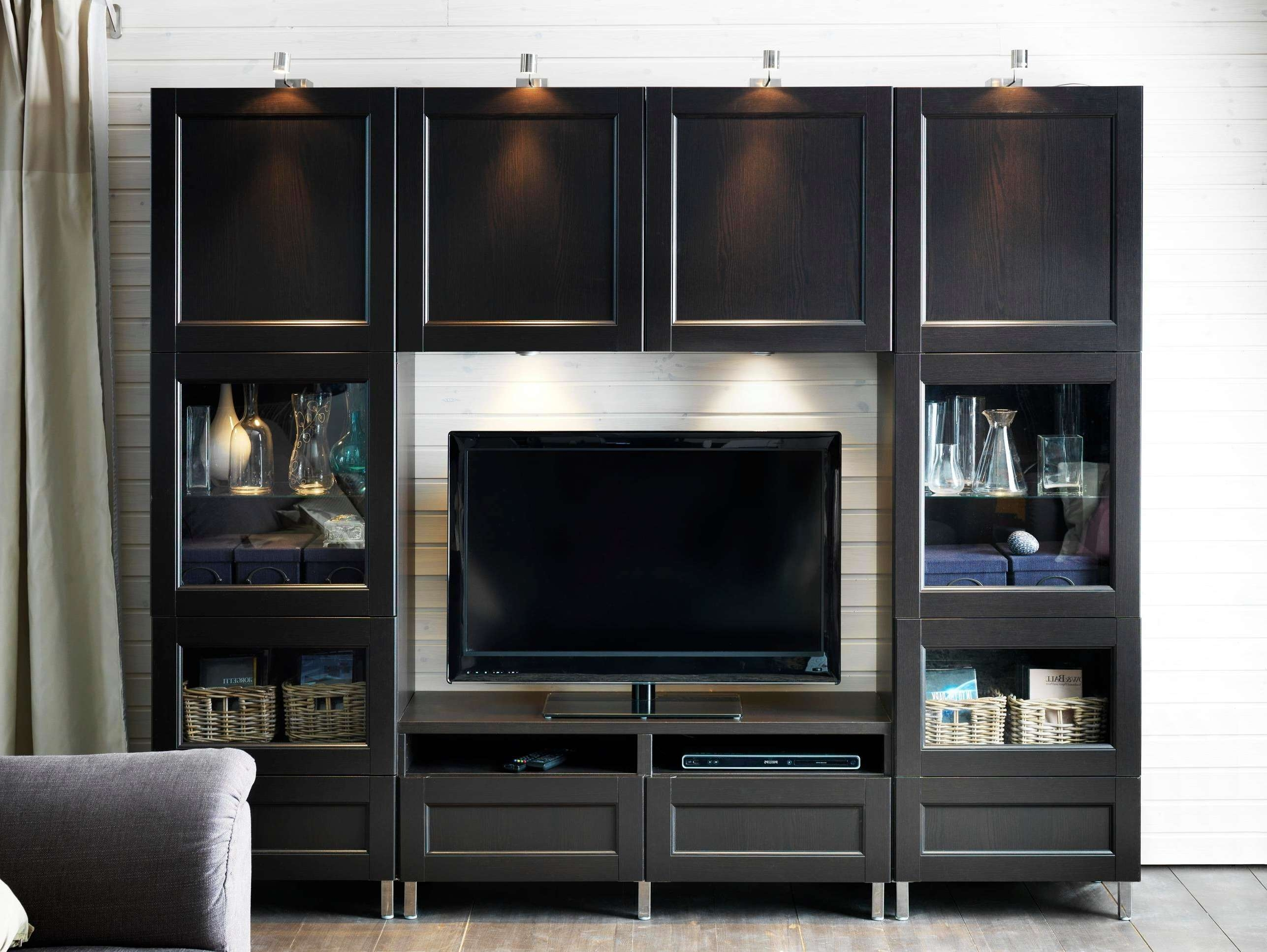 Furniture Awesome Design For Living Room Wall Cabinet Designs Throughout Tv Cabinets With Storage (View 6 of 20)