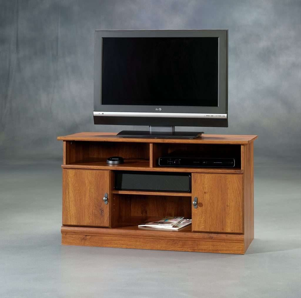 Furniture: Captivating Wooden Corner Tv Stands For Flat Screens Intended For Double Tv Stands (View 4 of 15)