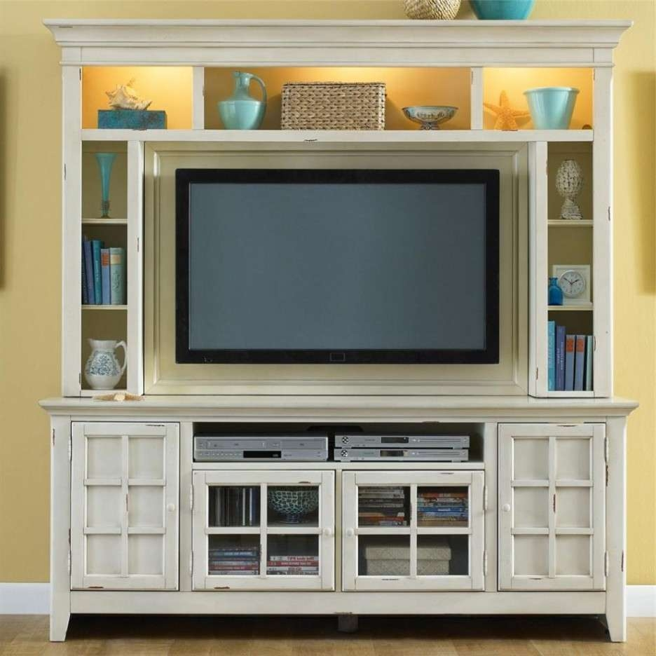 Furniture: Cool Picture Of Furniture For White Living Room Throughout Glass Tv Cabinets With Doors (View 4 of 20)