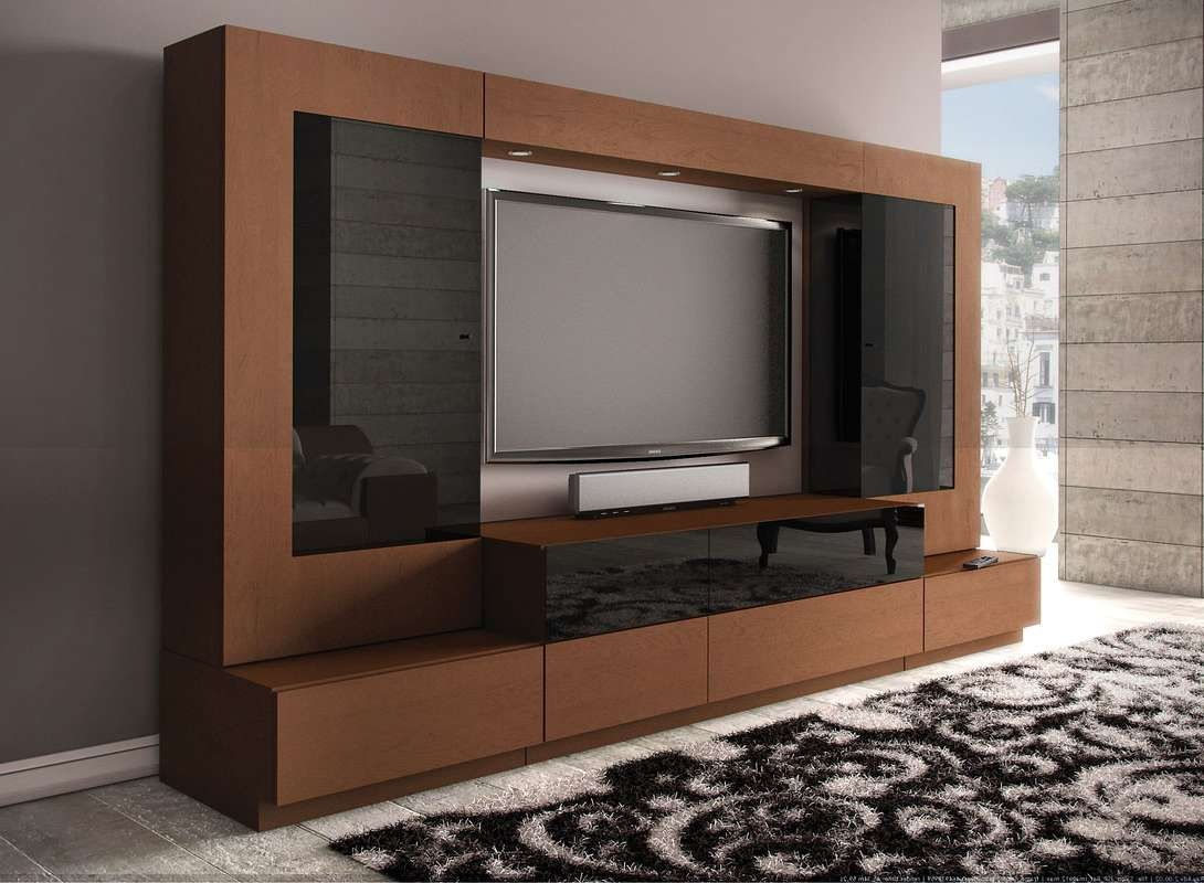 Furniture Design Of Tv Cabinet Glamorous Modern Hall Throughout Cabinets Designs