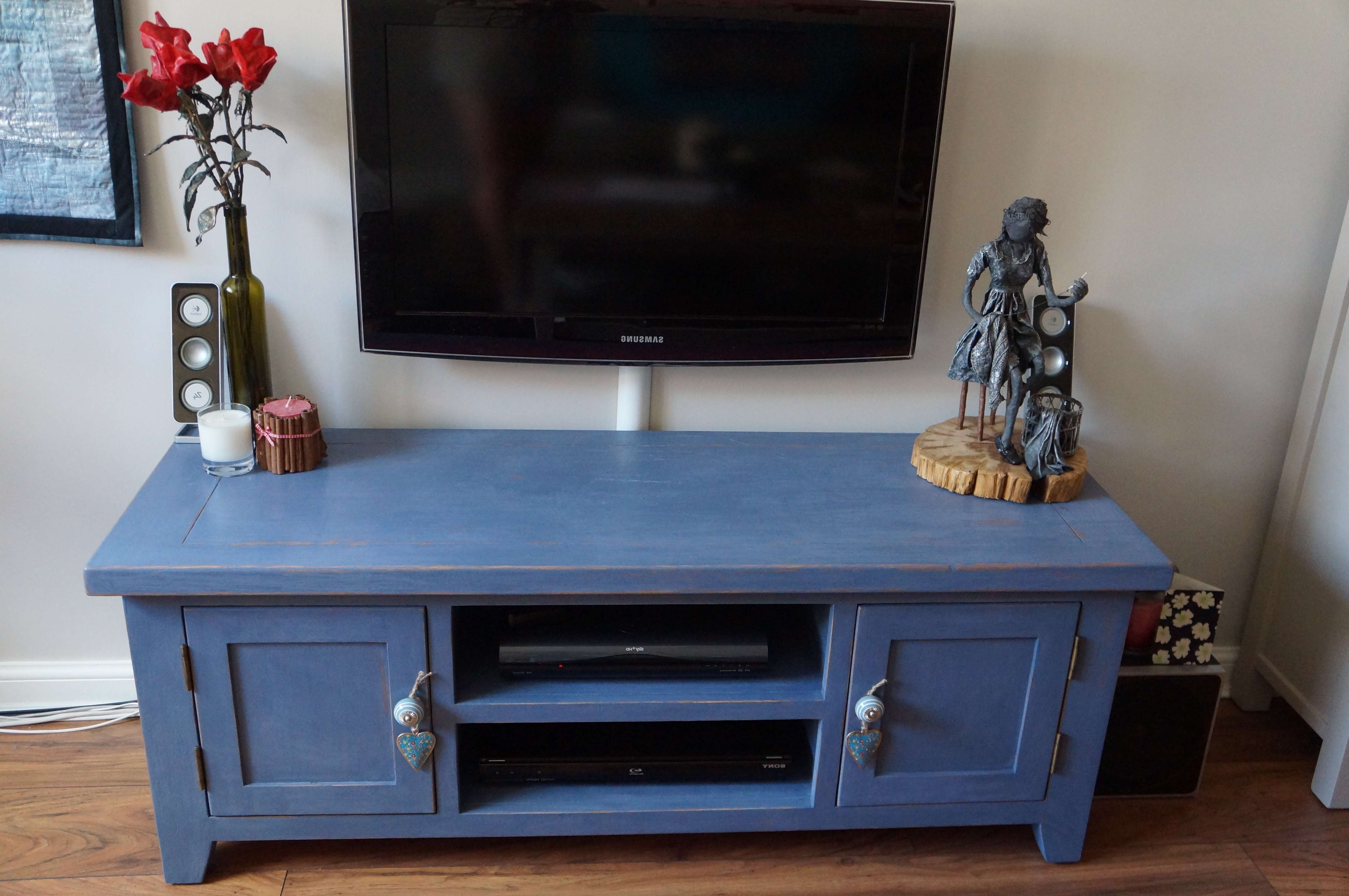 Furniture | Dreaming Of Avonlea Inside Blue Tv Stands (View 7 of 15)