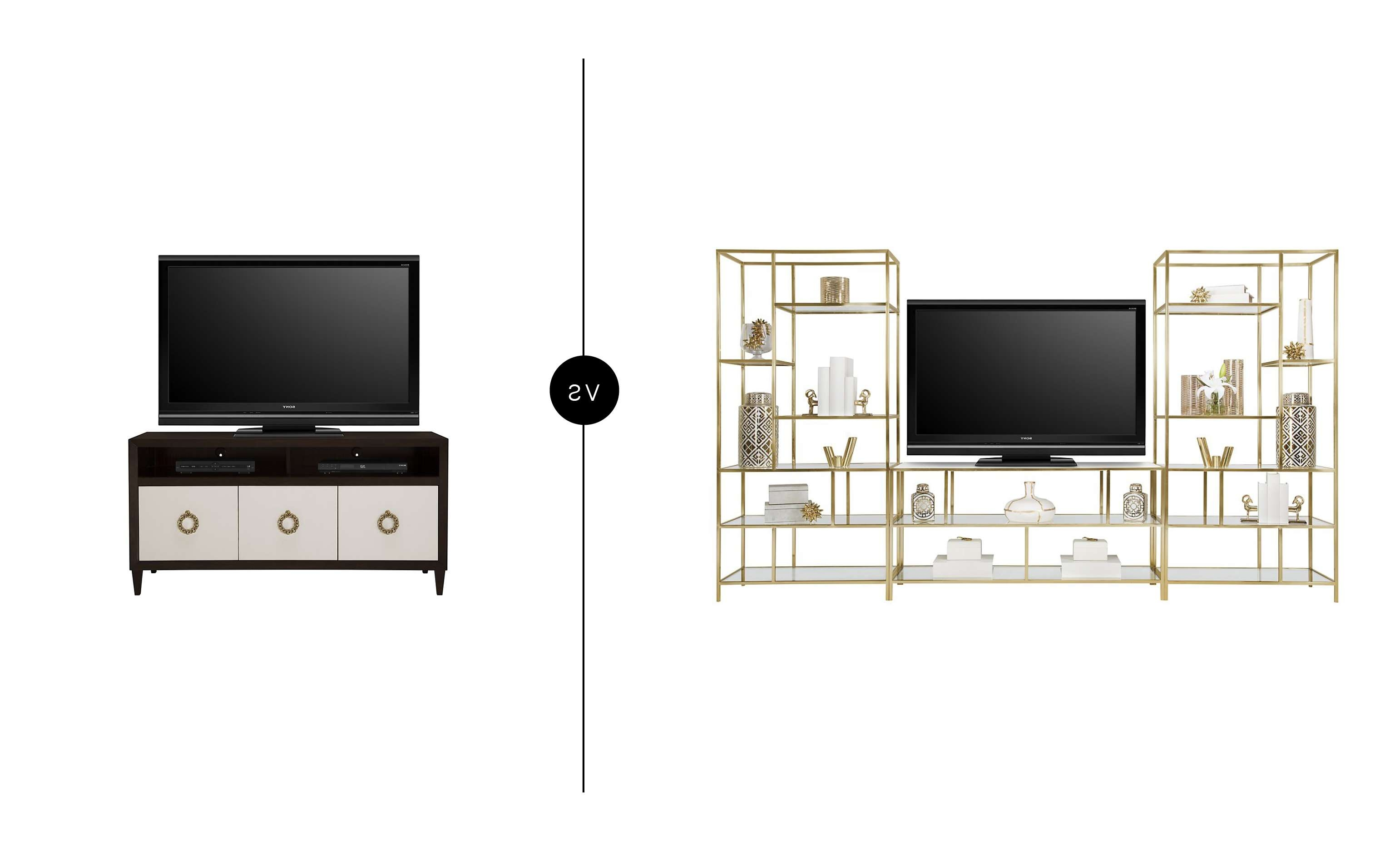 Furniture Face Off – Odds & End Tables In Gold Tv Stands (View 9 of 20)