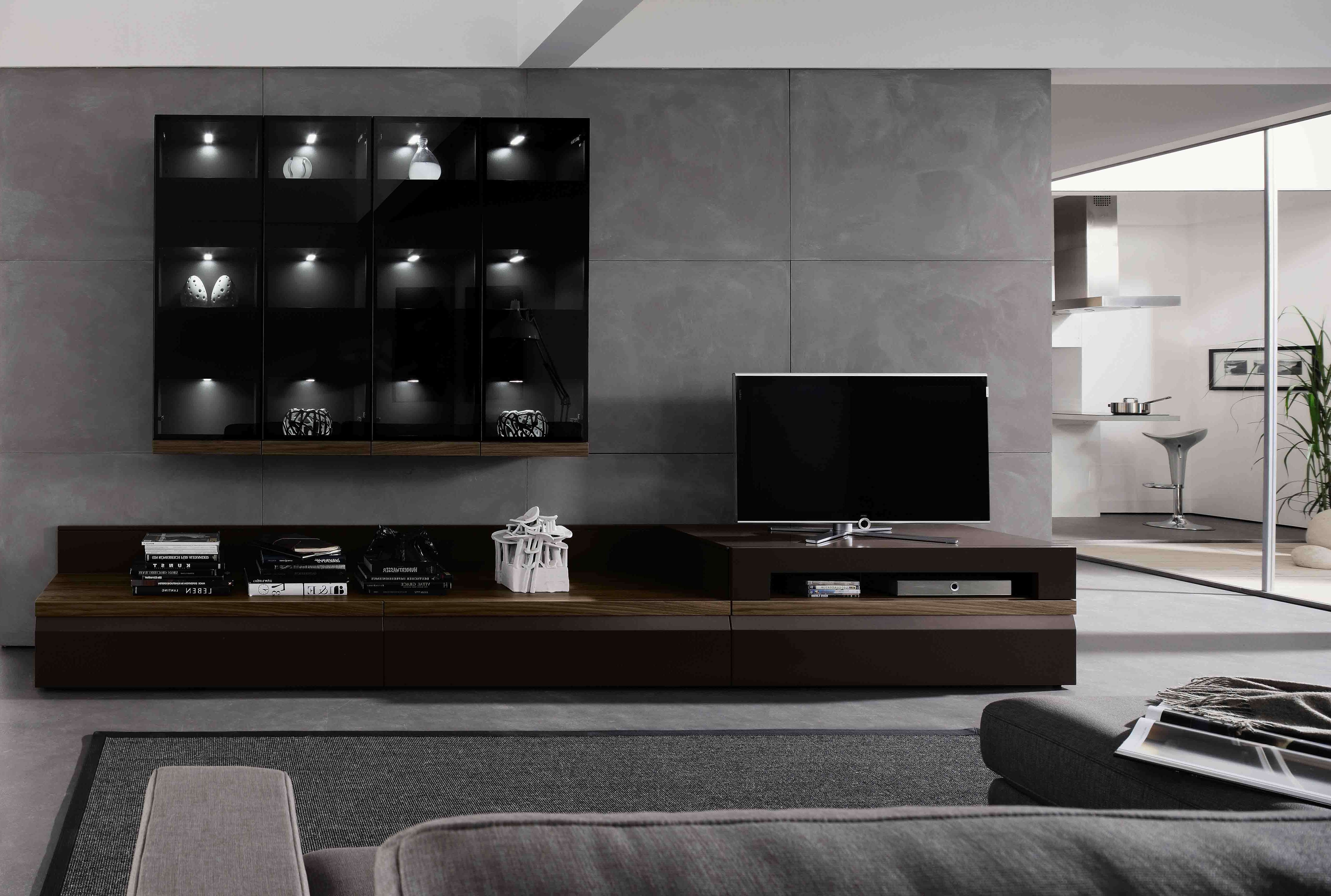 Furniture : Modern Entertainment Centers Wall Units Allmodern In Contemporary Tv Cabinets For Flat Screens (View 12 of 20)