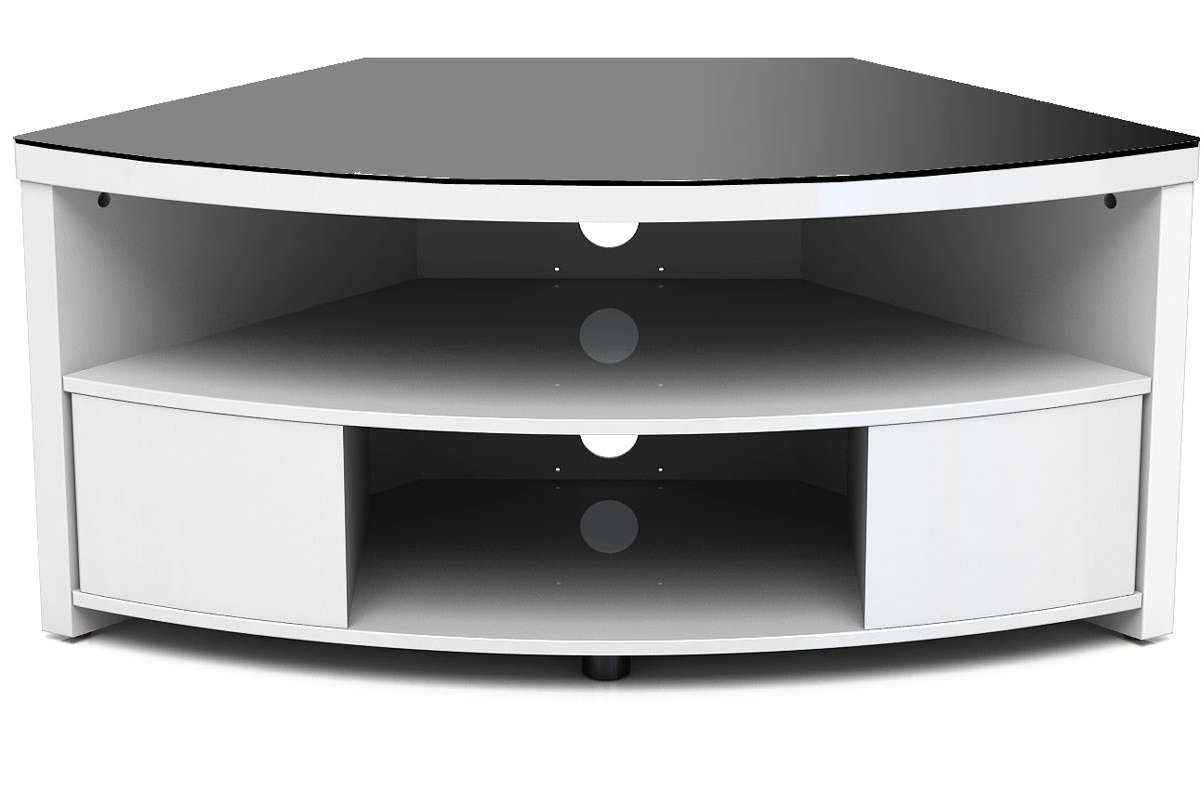Furniture. Spacious Corner Unit Tv Stands Design (View 17 of 20)