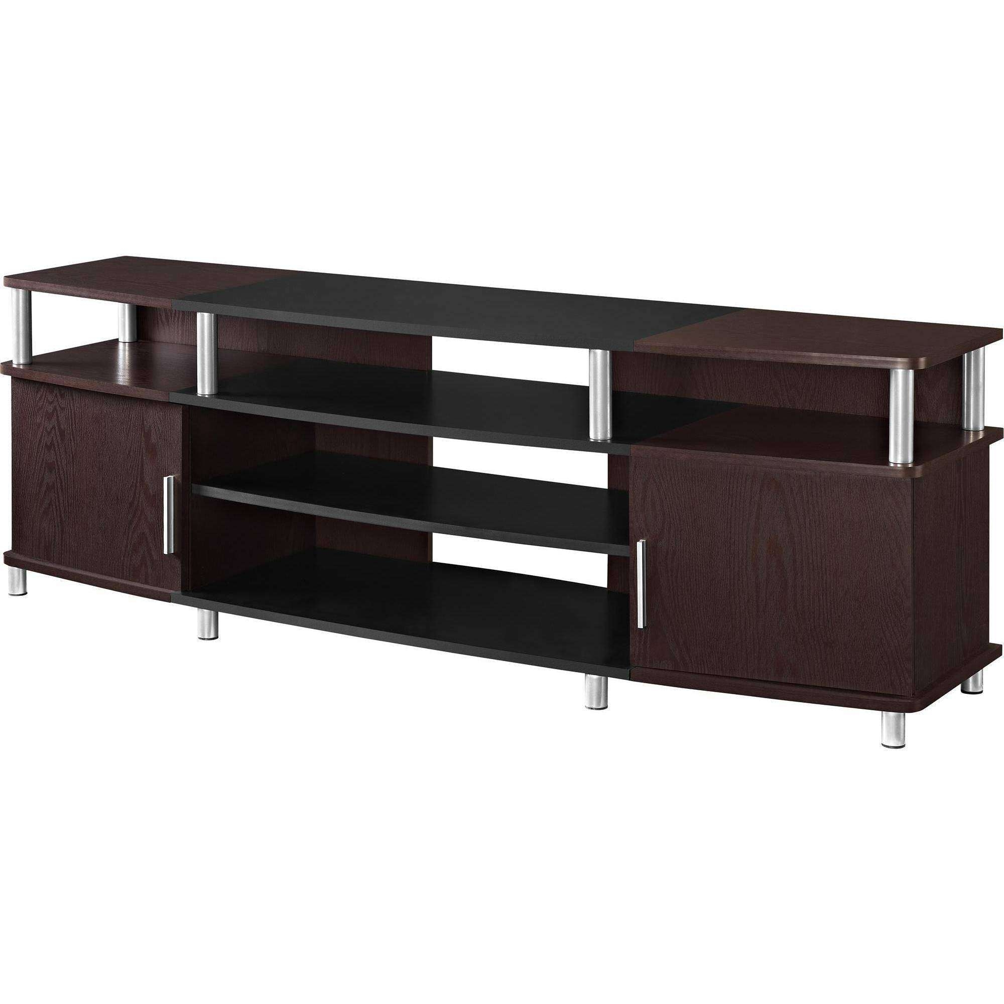 Furnitures Tv Stand For Inch Flat Screen Ameriwood Home Carson Tvs For Tv Stands For 70 Inch Tvs (View 11 of 15)