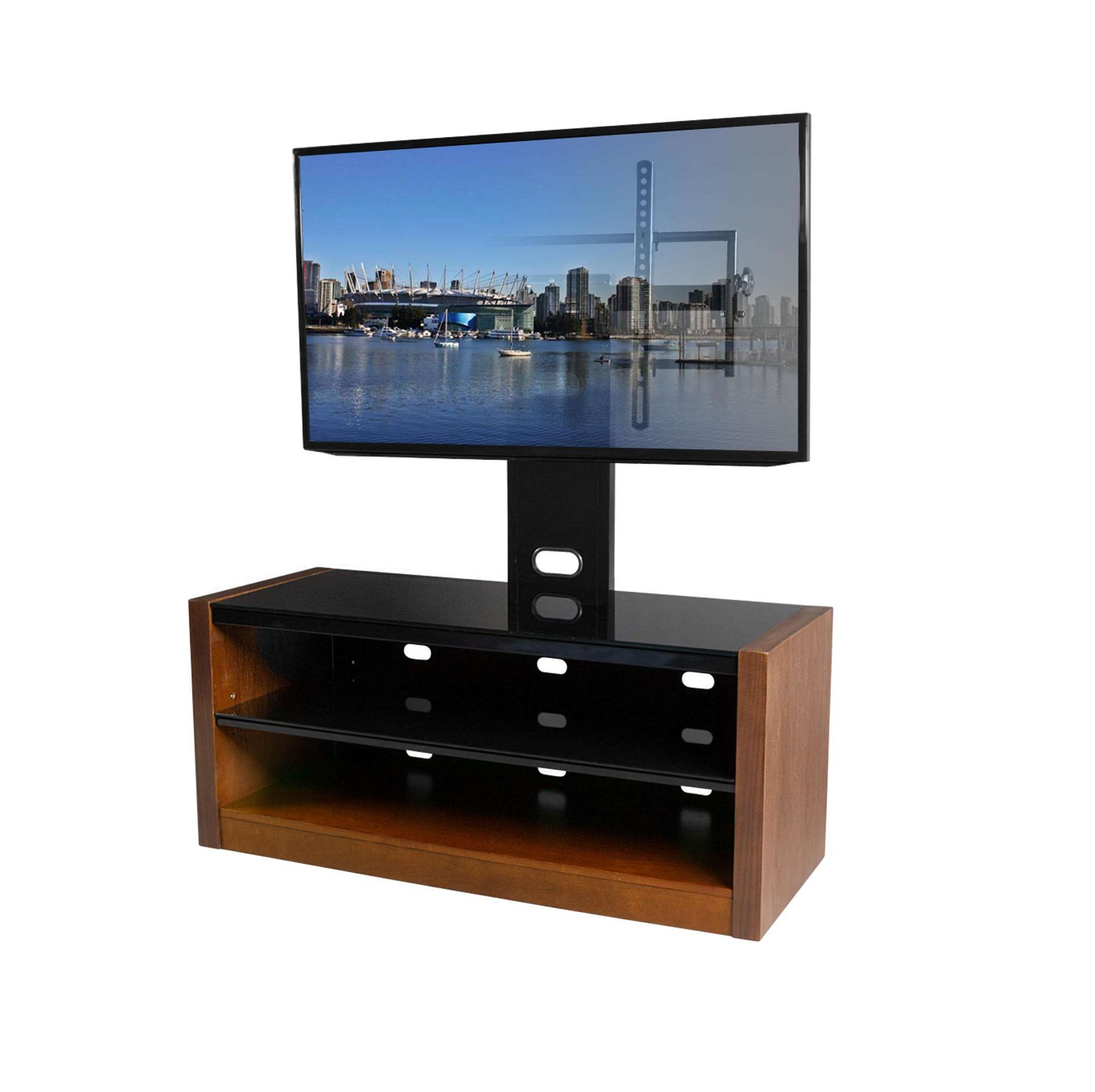 Genuine Image Solid Wood Tv Stand With Solid Wood Tv Stand Home With Walnut Tv Stands For Flat Screens (View 9 of 20)