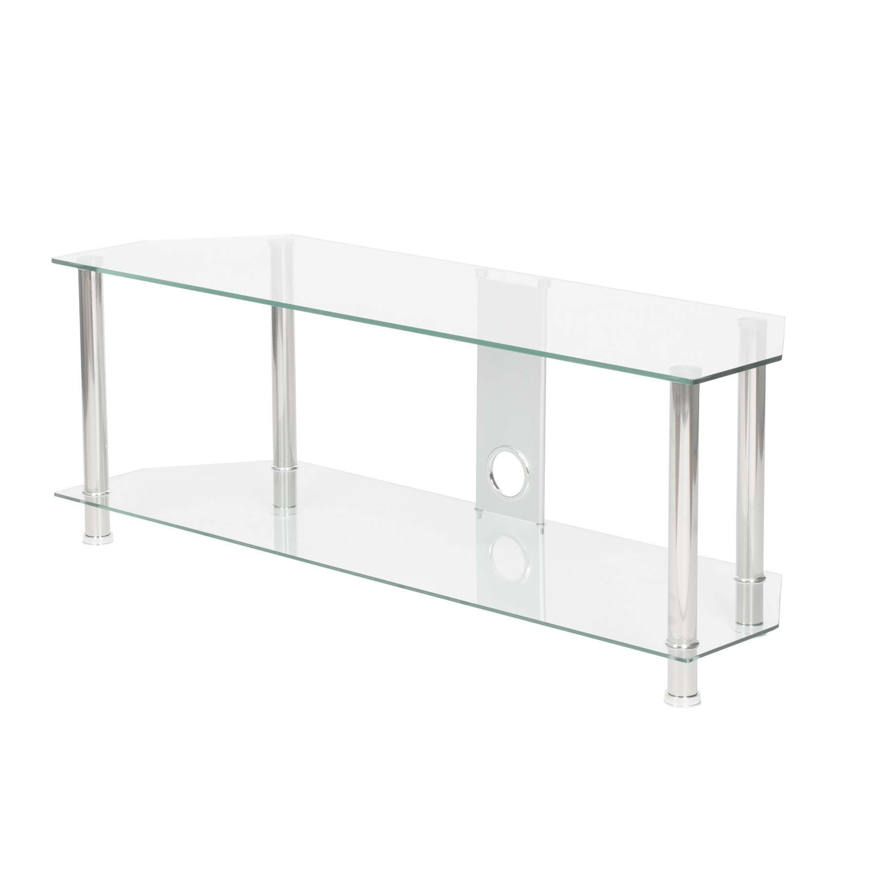 Glass Tv Stands & Tv Cabinets | Tv Wall Brackets & Mounts Within Smoked Glass Tv Stands (View 6 of 15)
