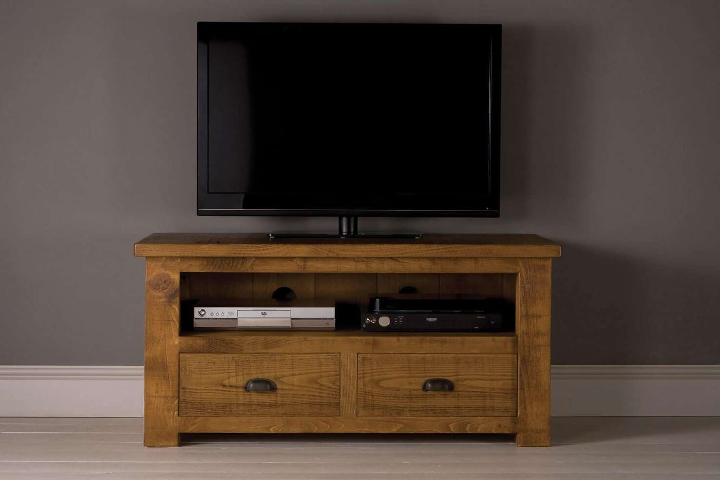 Grand Plank Tv Cabinet With Drawersindigo Furniture For Tv Cabinets (View 3 of 20)