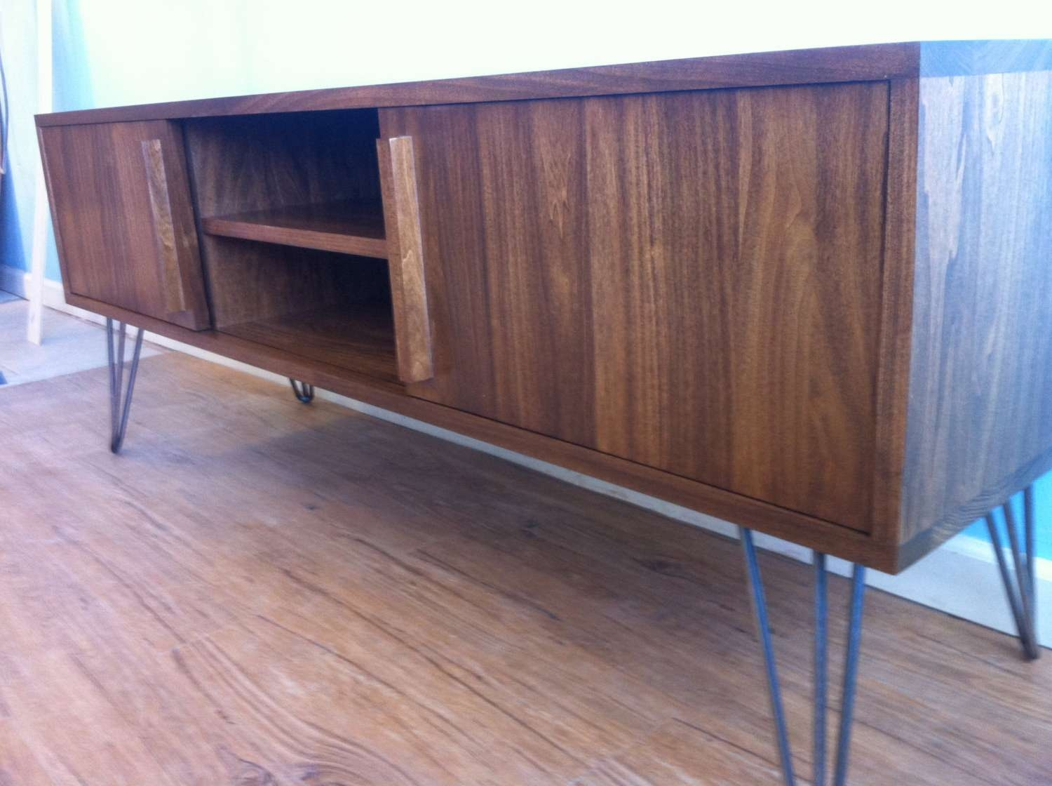 Hairpin Leg Tv Stand Intended For Hairpin Leg Tv Stands (View 7 of 15)