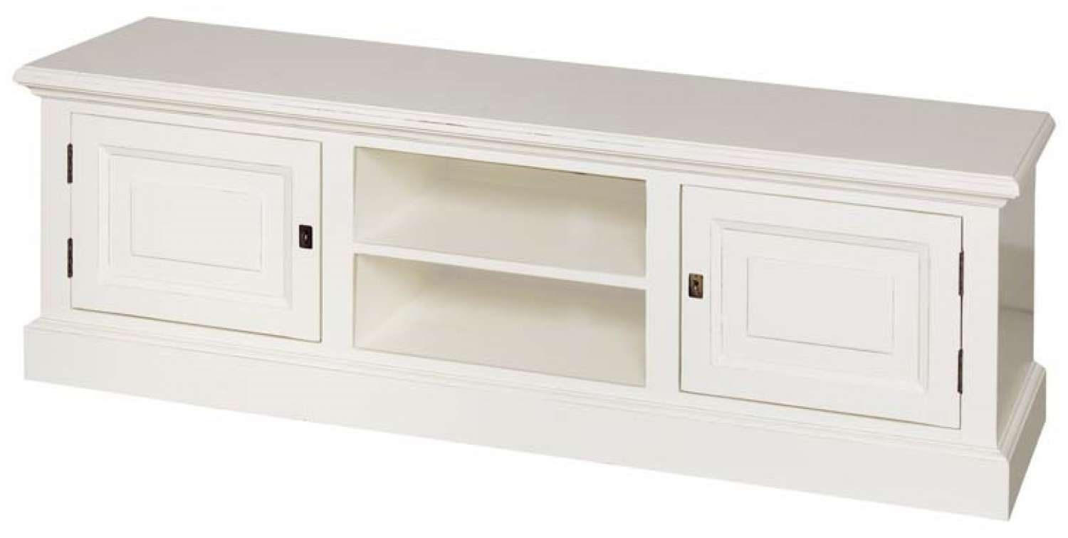 Hamilton Painted Tv Cabinet With 2 Doors In Tv Cabinets Intended For White Painted Tv Cabinets (View 6 of 20)