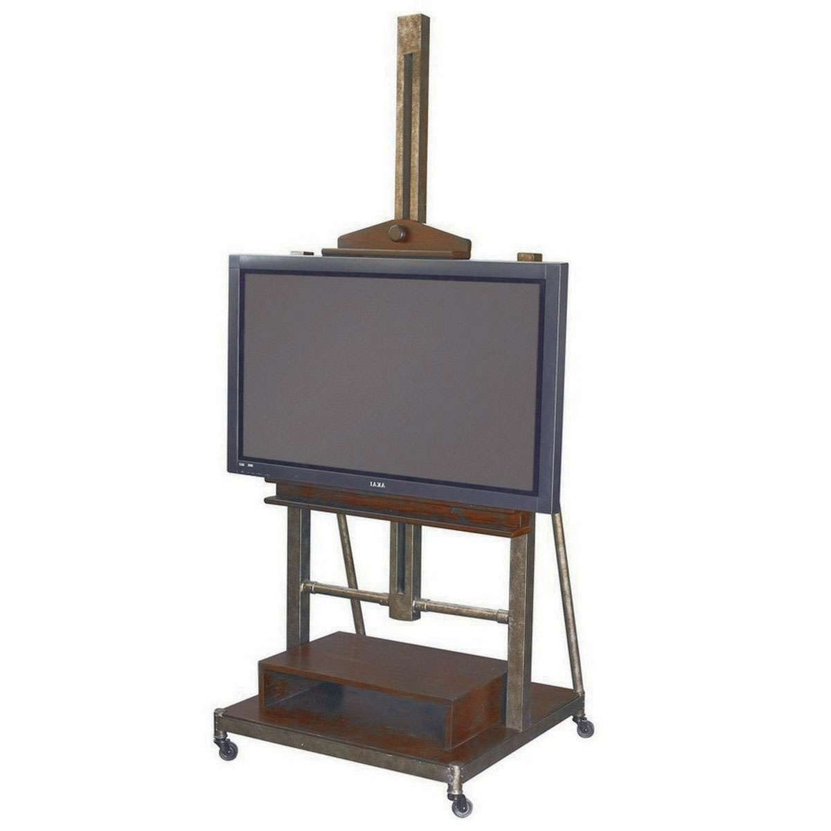 Hammary Structure Media Easel Tv Stand – Beyond Stores Inside Easel Tv Stands For Flat Screens (View 3 of 15)