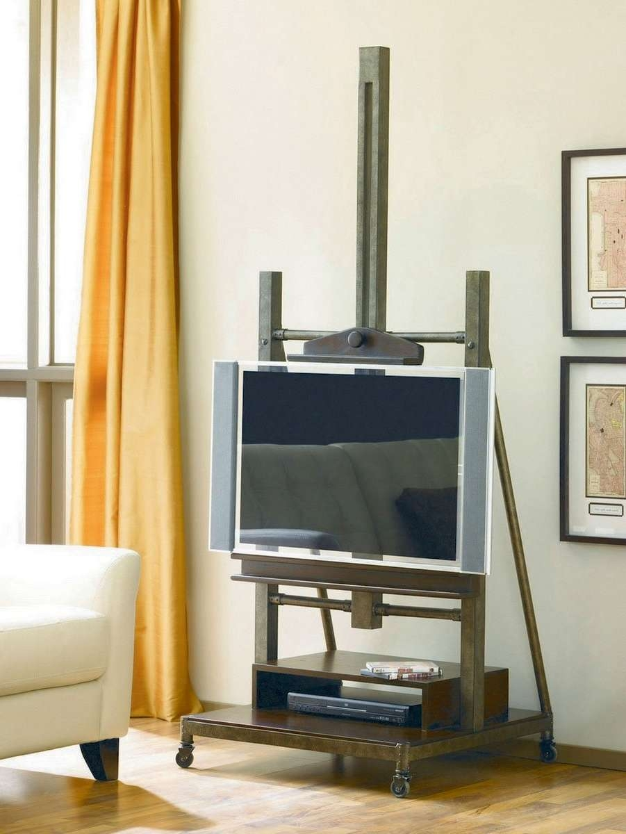 Hammary Structure Media Easel Tv Stand – Beyond Stores With Easel Tv Stands For Flat Screens (View 4 of 15)