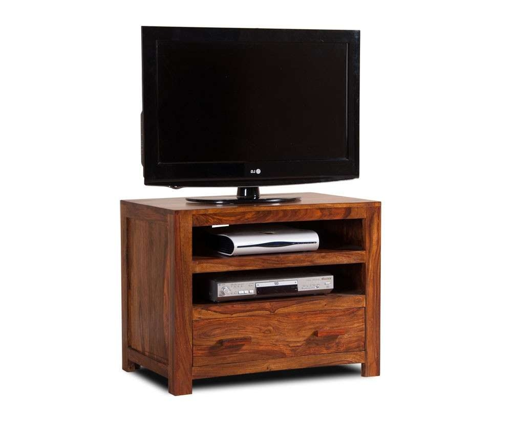 Handcrafted Solid Wood Tv Unit – Small | Casa Bella Furniture Uk Within Small Tv Cabinets (View 11 of 20)