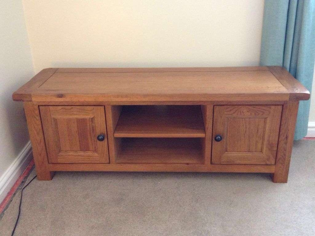 Harveys Toulouse Plasma Tv Unit / Stand | In Whitchurch, Bristol Within Harveys Wooden Tv Stands (View 4 of 15)