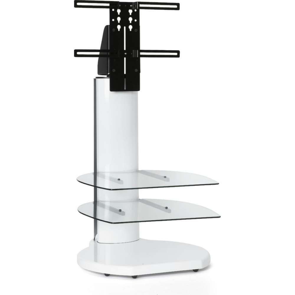 High Led Flatscreen Tv Stand Tall Mount Storage Shelves Within Off White Corner Tv Stands (View 11 of 15)