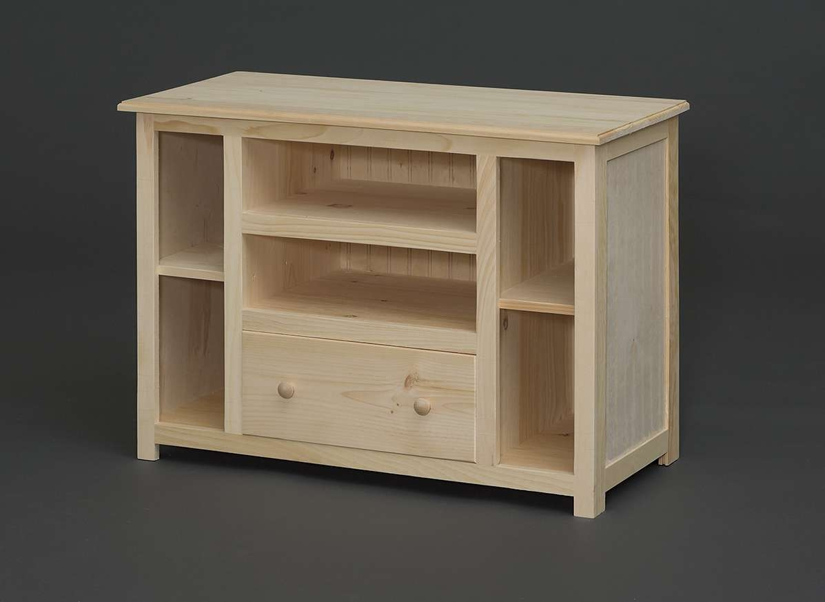 Holmwoods\ Furniture\ And\ Decorating\ Center – Unfinished Occasional Throughout Pine Wood Tv Stands (View 5 of 15)