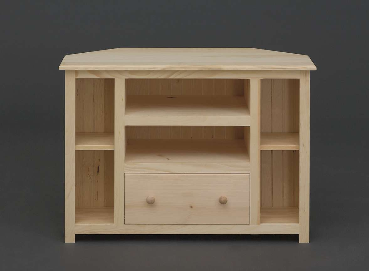 Holmwoods\ Furniture\ And\ Decorating\ Center – Unfinished Occasional Within Pine Corner Tv Stands (View 6 of 15)