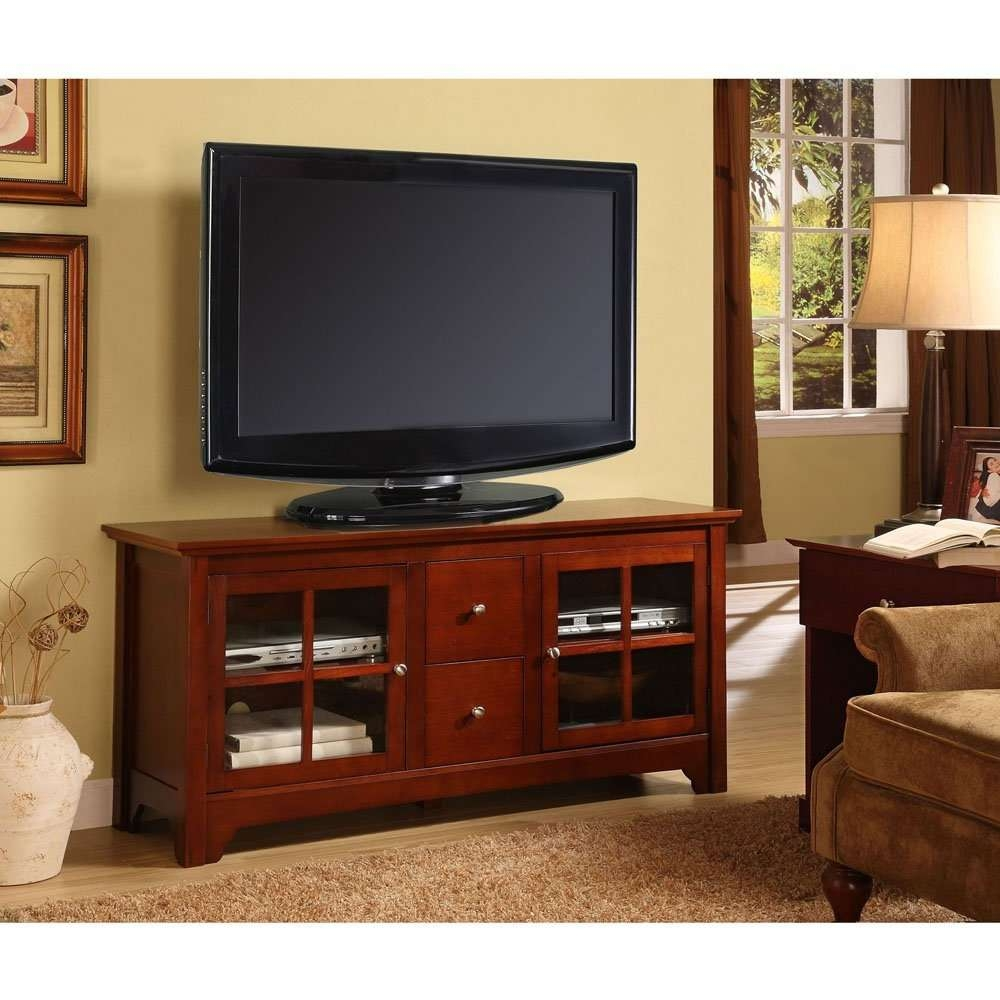Featured Photo of Wooden Tv Stands For 55 Inch Flat Screen