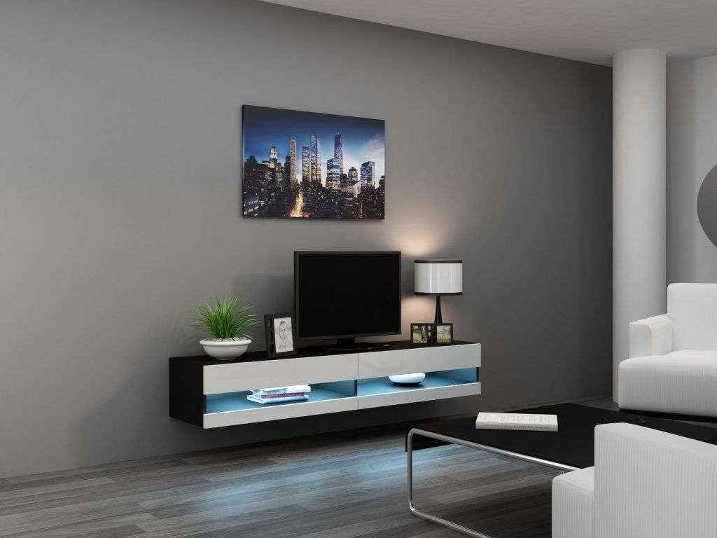 Home Design : Retro Wood Wall Mounted Tv Cabinet Mixed Log With Modern Wall Mount Tv Stands (View 12 of 20)