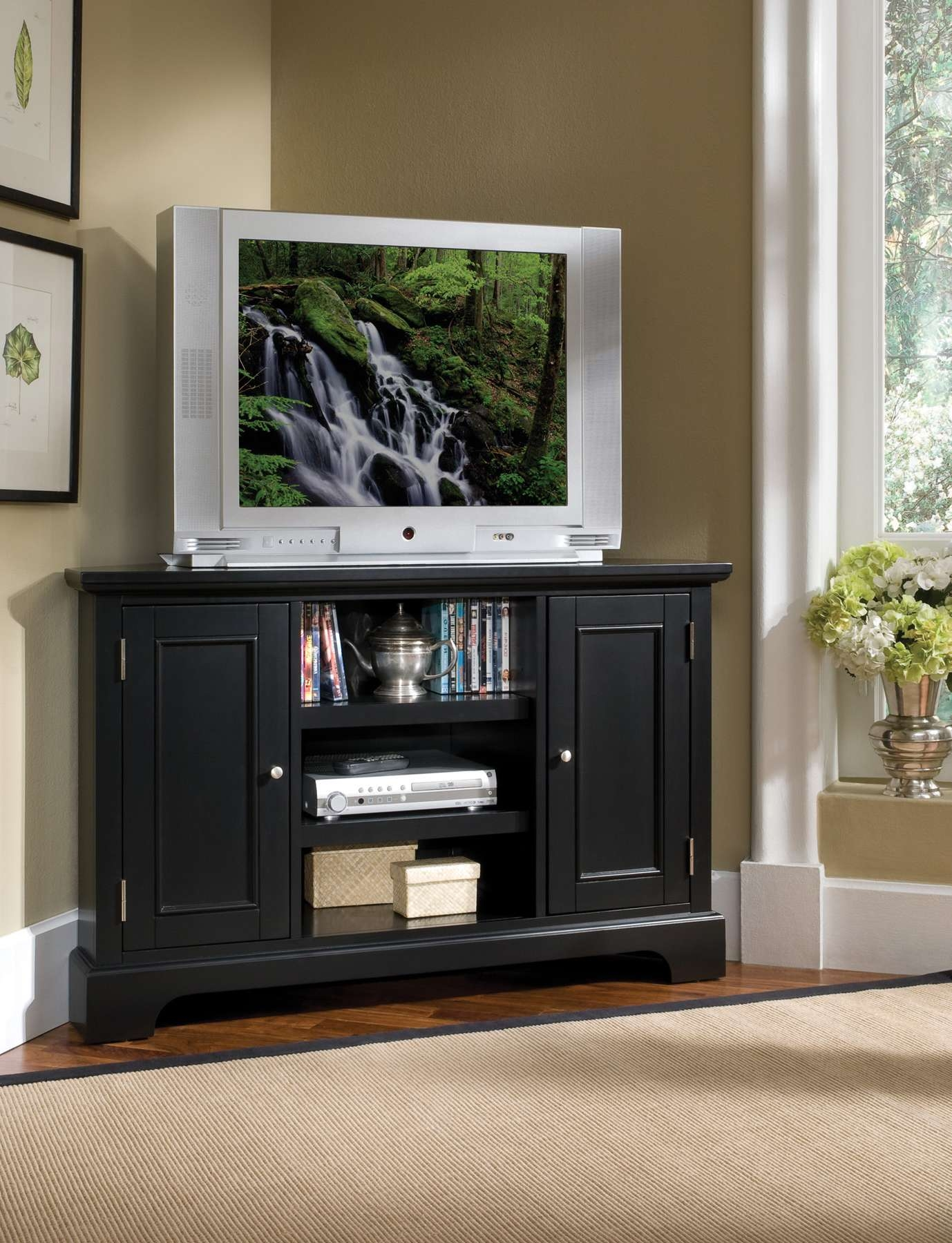 Home Styles Bedford Corner Entertainment Tv Stand 5531 07 In Bedford Tv Stands (View 4 of 15)