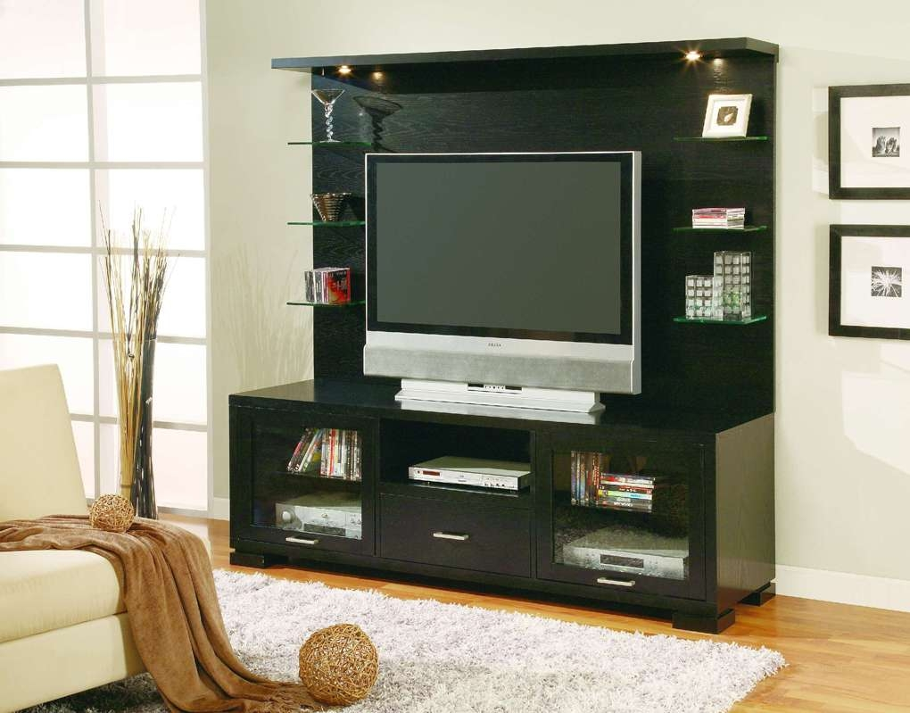 Homelegance Weiser Tv Stand With Back Panel T P Stands Impressive For Tv Stands With Back Panel (View 7 of 15)