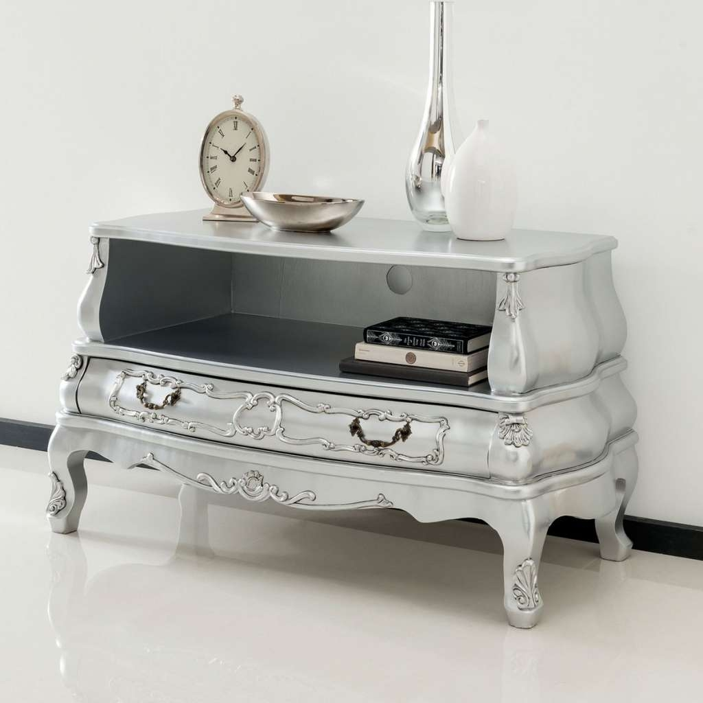 Homesdirect365 On Twitter Silver Bergere Antique French Style Tv Pertaining To French Style Tv Cabinets (View 9 of 20)