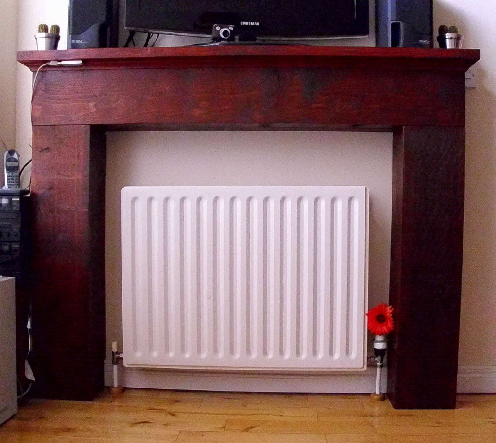 House Of Spoon: Faux Fireplace With Regard To Radiator Cover Tv Stands (View 7 of 15)