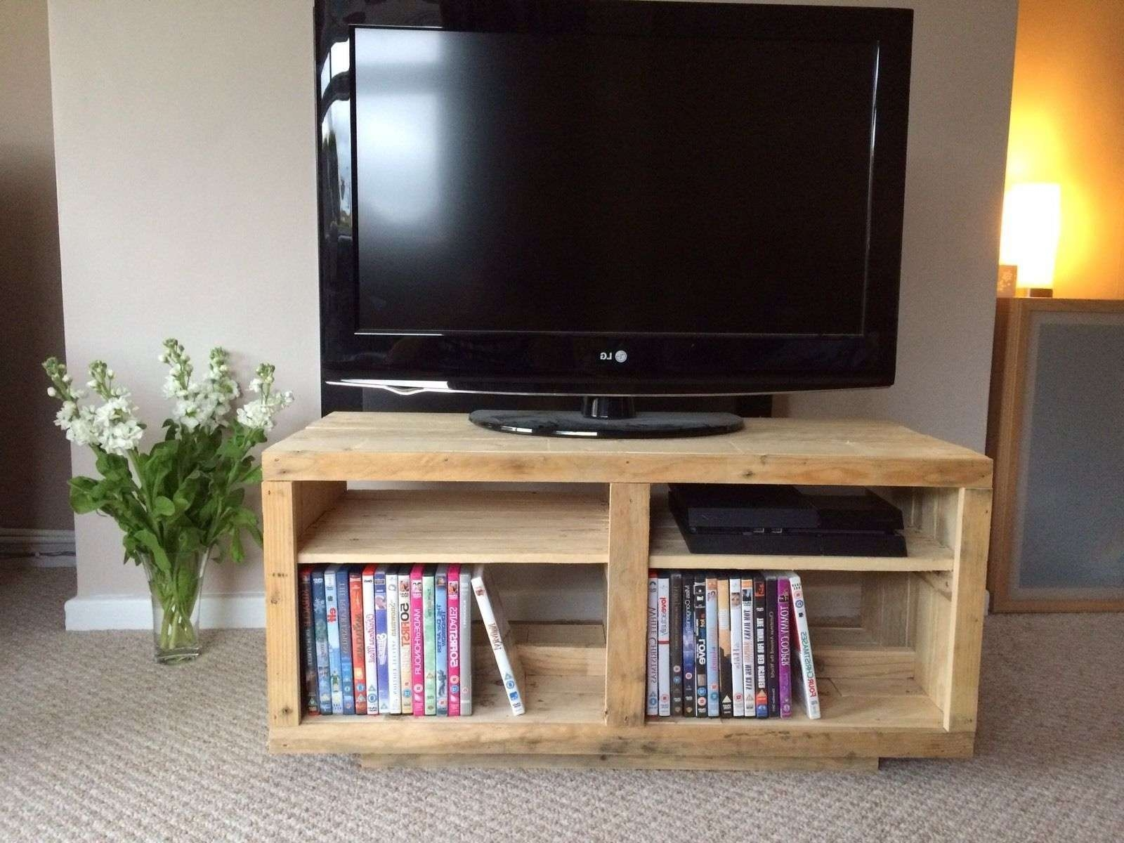 How To Build A Tv Stand Out Of Wood | Ebay For Upright Tv Stands (View 4 of 20)
