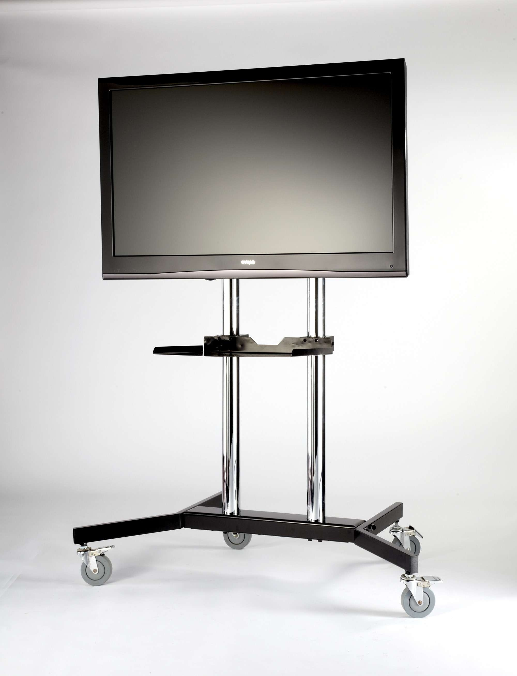 "Iconic Trex 01 Tv Trolley For 37"" To 63"" Tvs Throughout Iconic Tv Stands (View 8 of 15)"