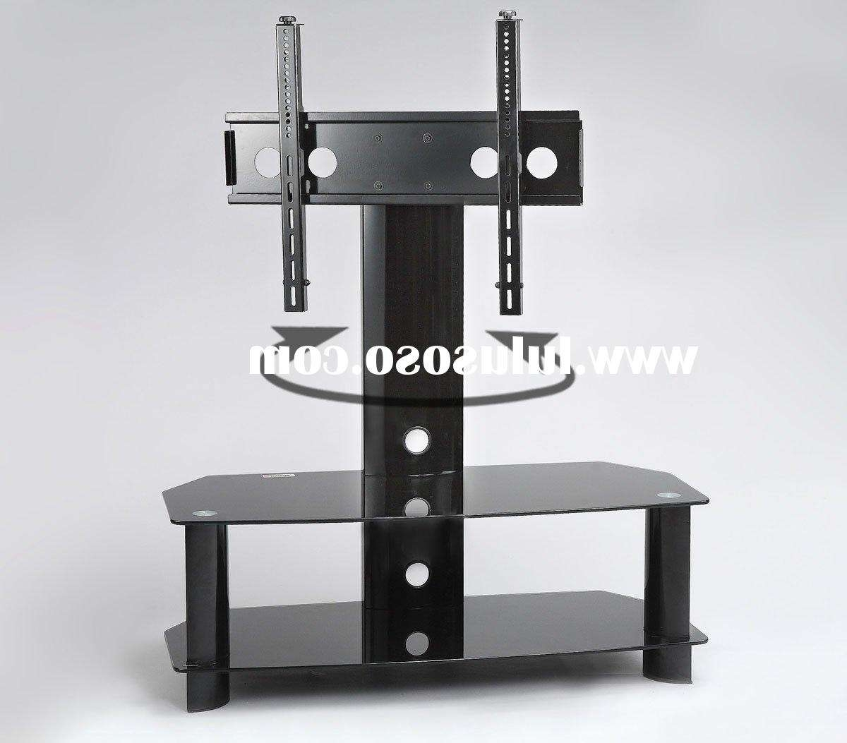 Imposing Swivel Mount Pedestal Base Wall Mount For Universal Tv Within Wood Tv Stands With Swivel Mount (View 5 of 15)