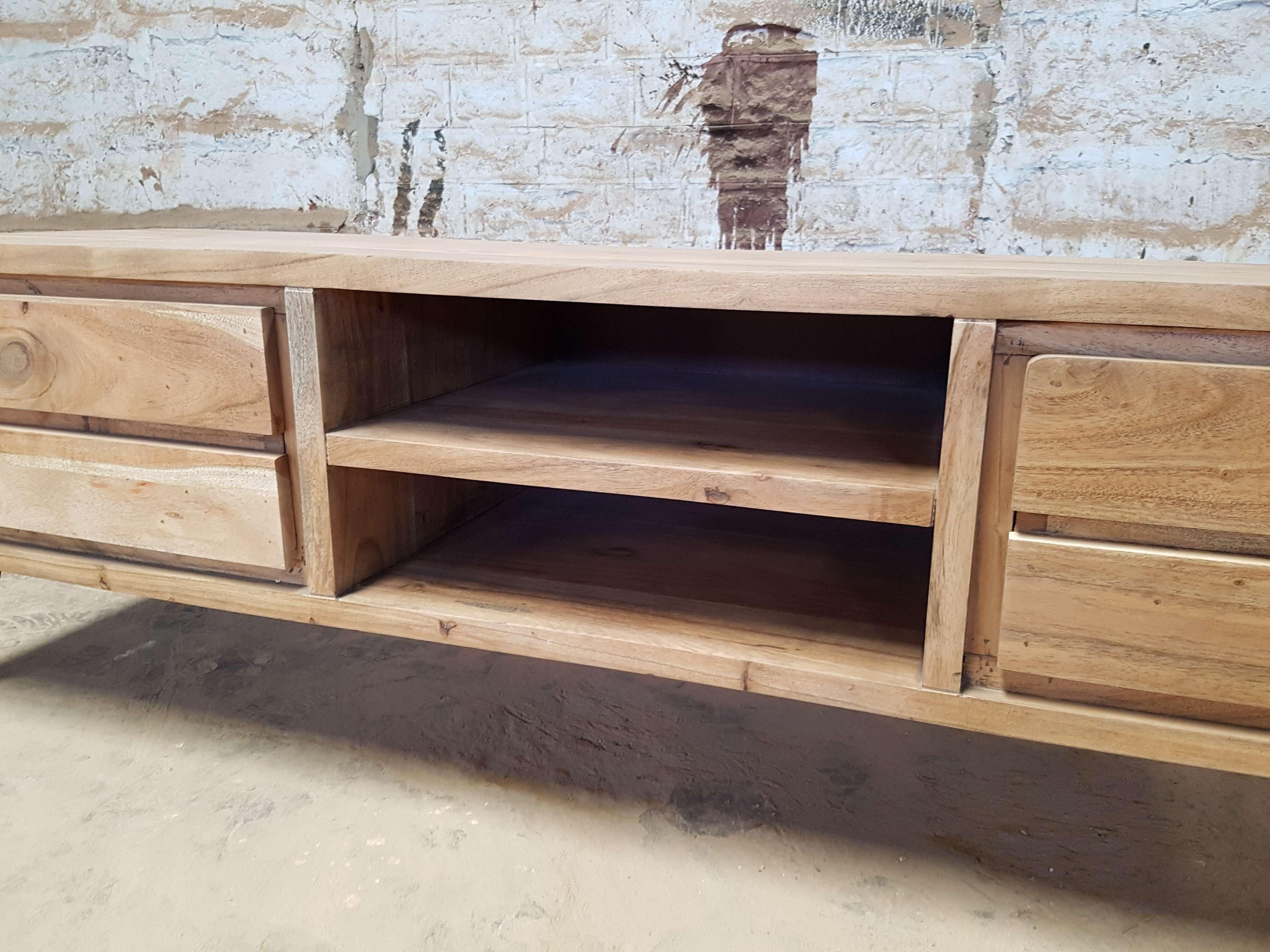 Industrial Furniture – Scandinavian Wooden Tv Cabinet Scandus With Throughout Scandinavian Tv Stands (View 5 of 15)