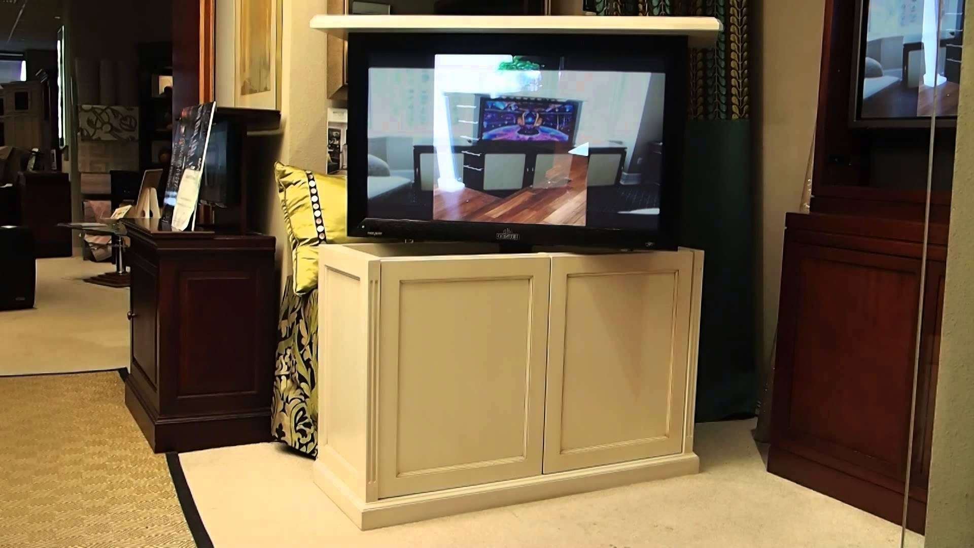 Innovations Motorized Tv Stand – Home Decorreisa Throughout Pop Up Tv Stands (View 15 of 20)