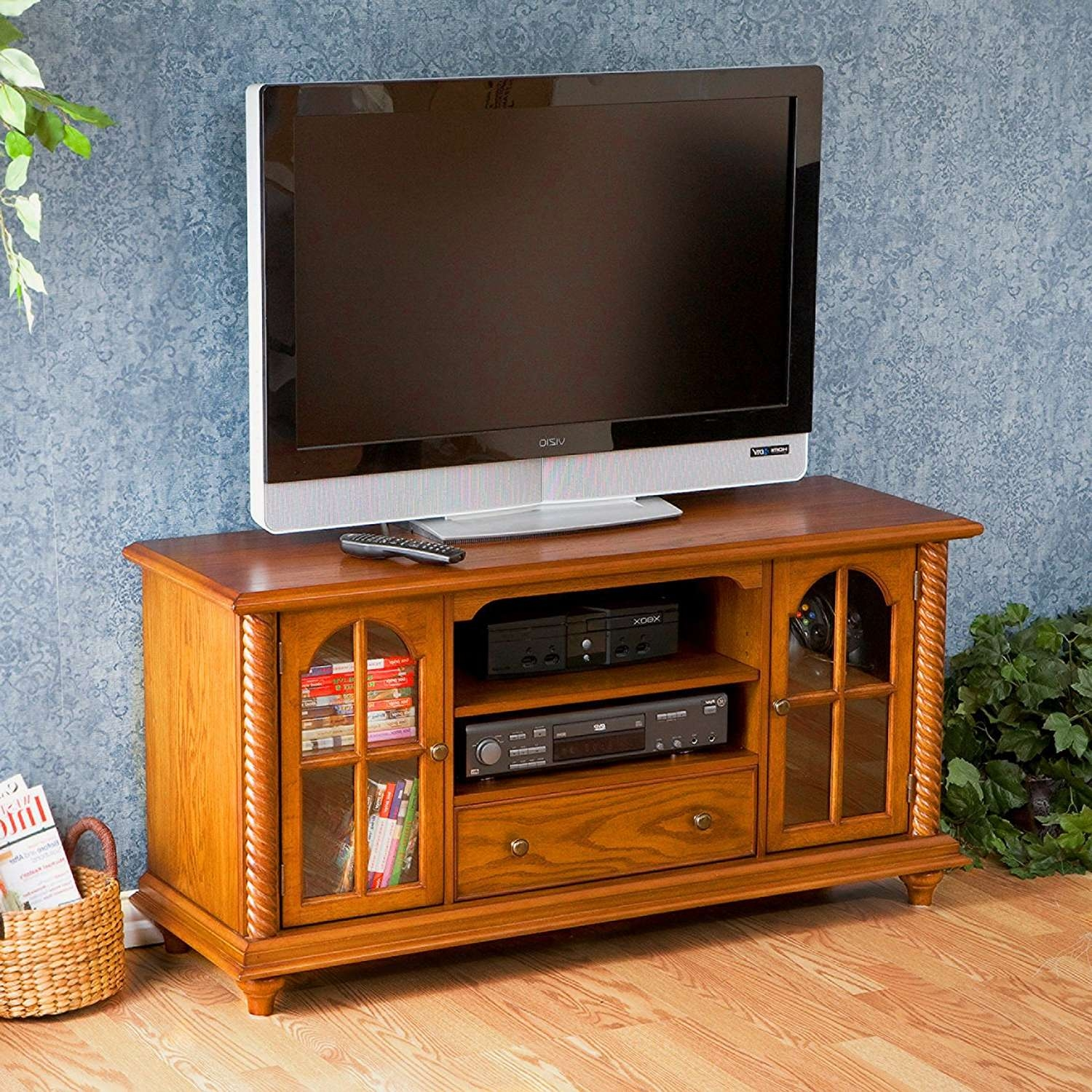 Innovative Designs Oak Tv Console | Marku Home Design Intended For Oak Tv Stands For Flat Screen (View 7 of 15)