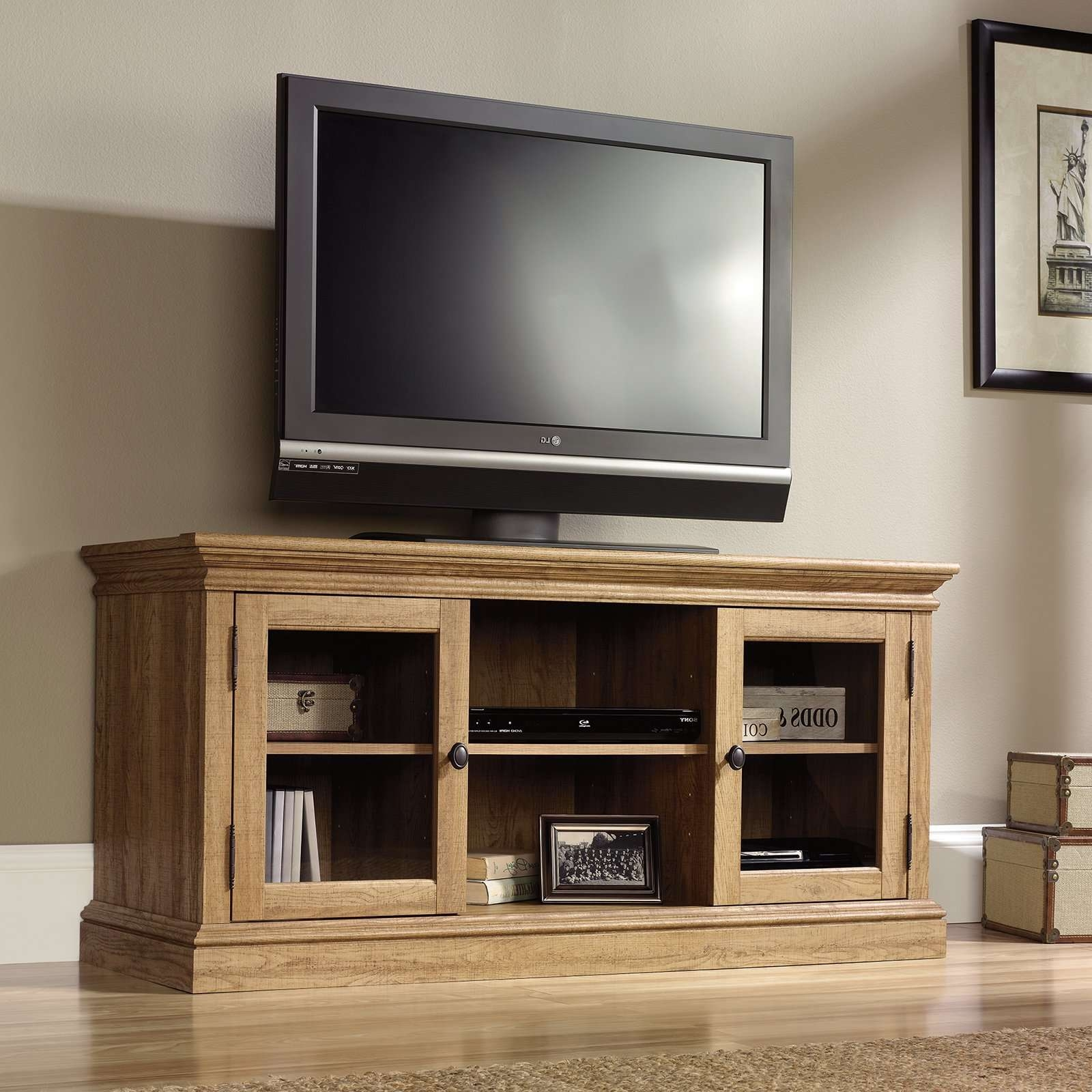 Innovative Designs Oak Tv Console | Marku Home Design Within Light Oak Tv Stands Flat Screen (View 8 of 15)