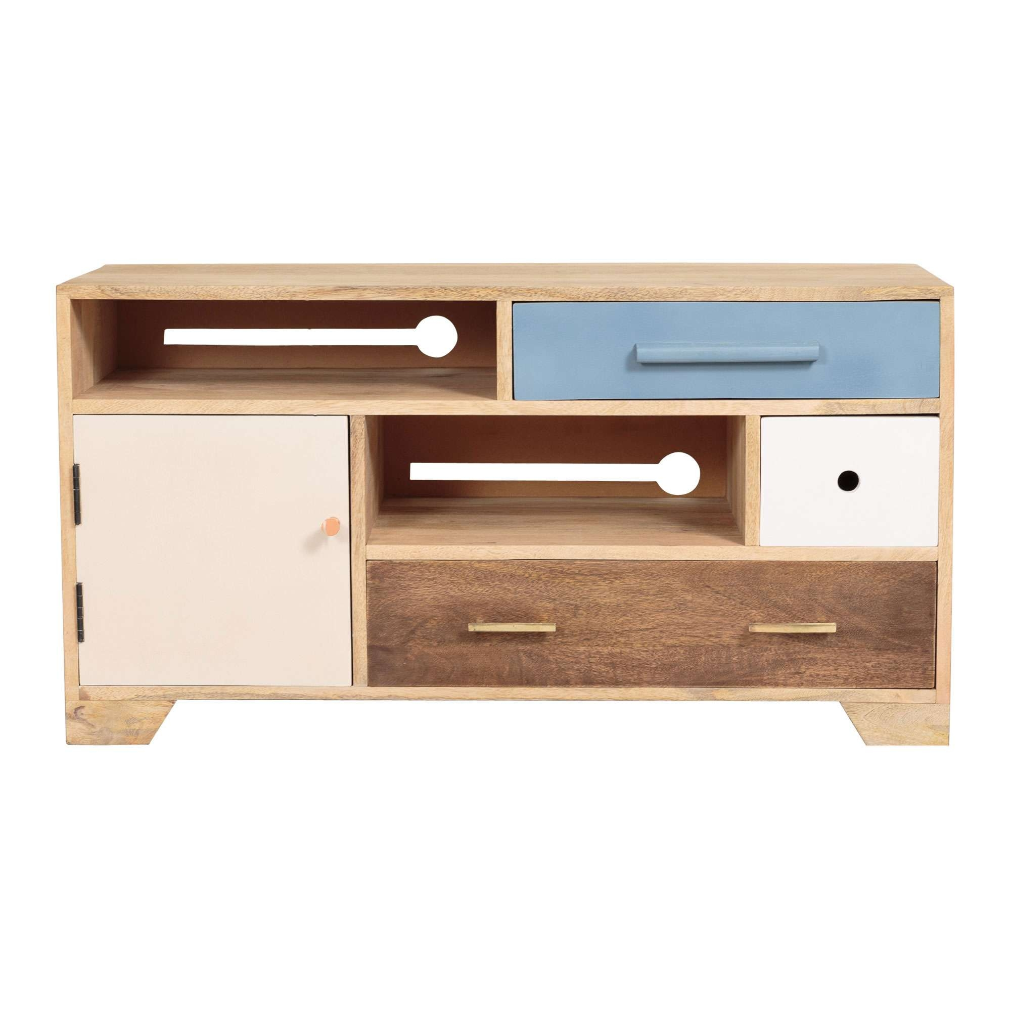 Jennifer Wooden Tv Cabinet | Oliver Bonas With Regard To Wooden Tv Cabinets (View 8 of 20)