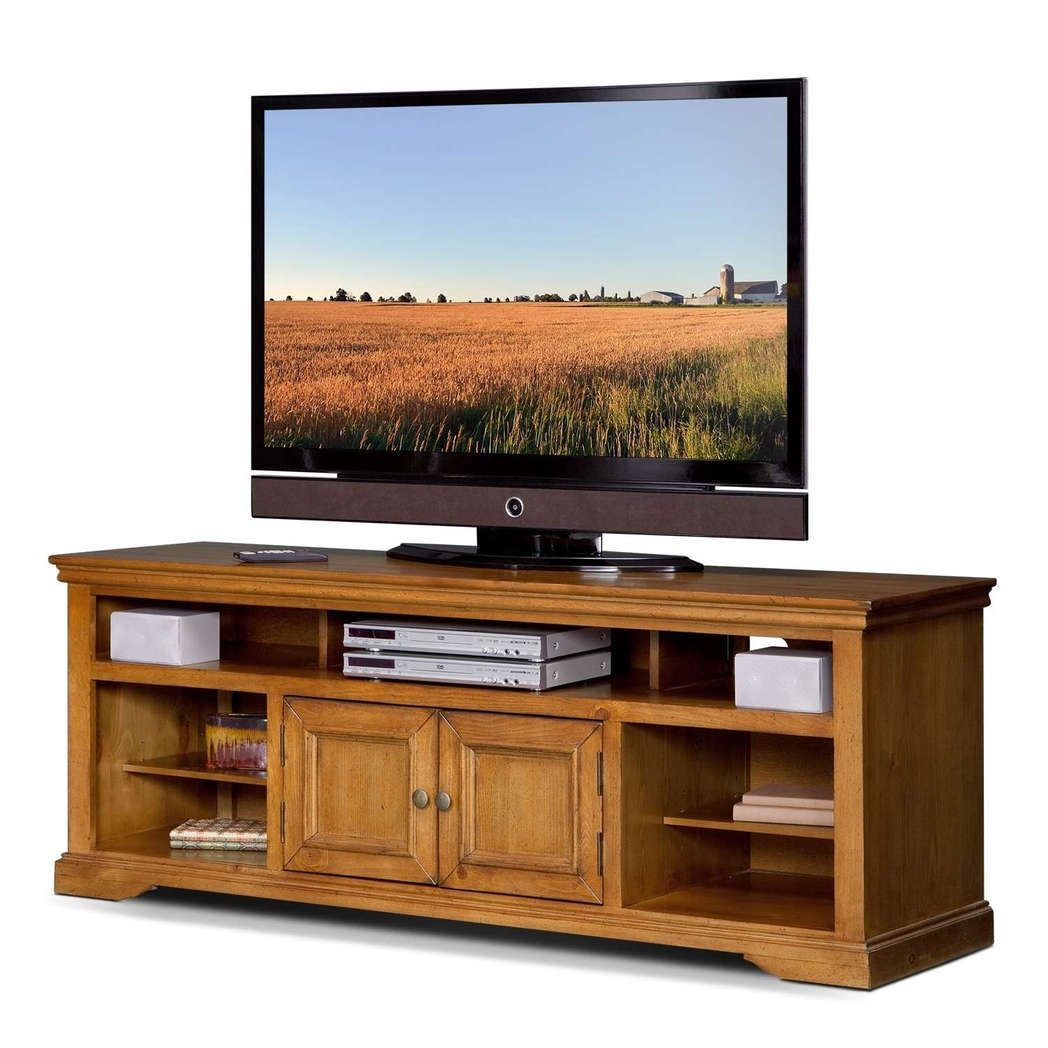 """Jenson 70"""" Tv Stand – Pine 