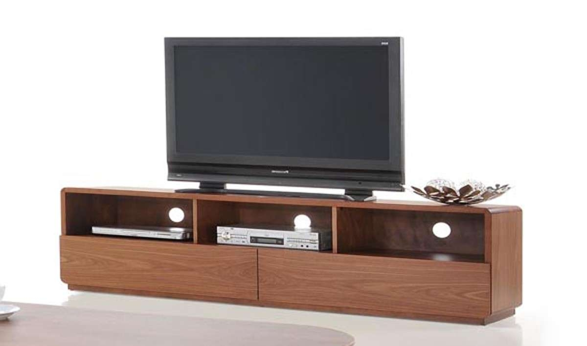Jett Mid Century Walnut Tv Stand Inside Modern Walnut Tv Stands (View 5 of 15)