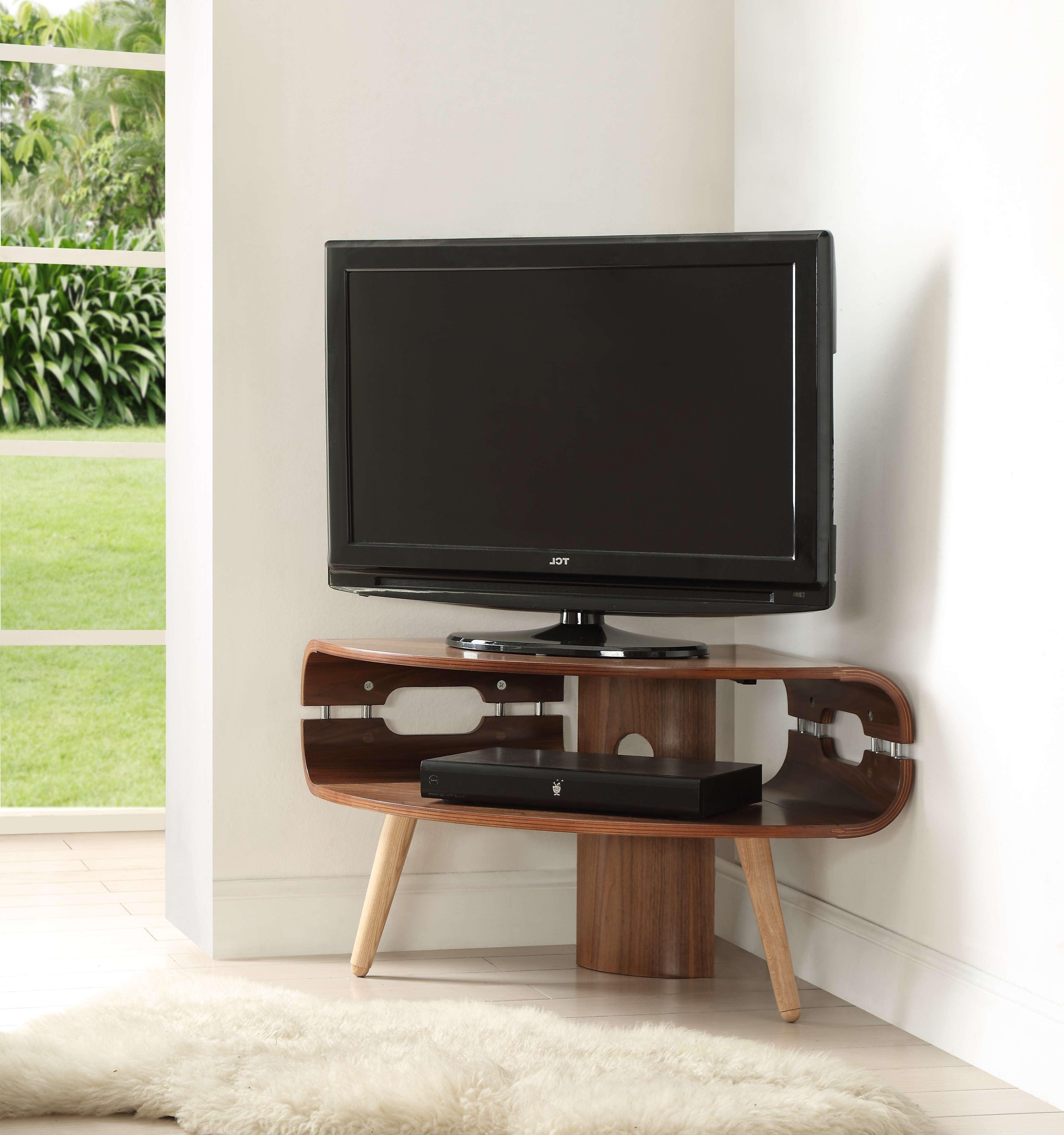 Jf701 Corner Tv Stand – Cooks Inside Walnut Corner Tv Stands (View 8 of 15)