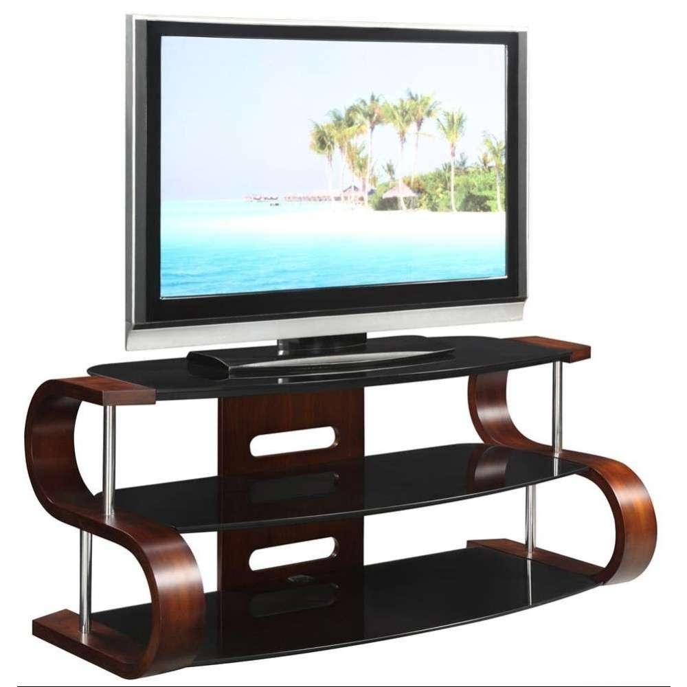 Jual Jf203 Curve Tv Stand Dressed2 1000X1000 Unusual Dark Wooden With Curve Tv Stands (Gallery 13 of 15)