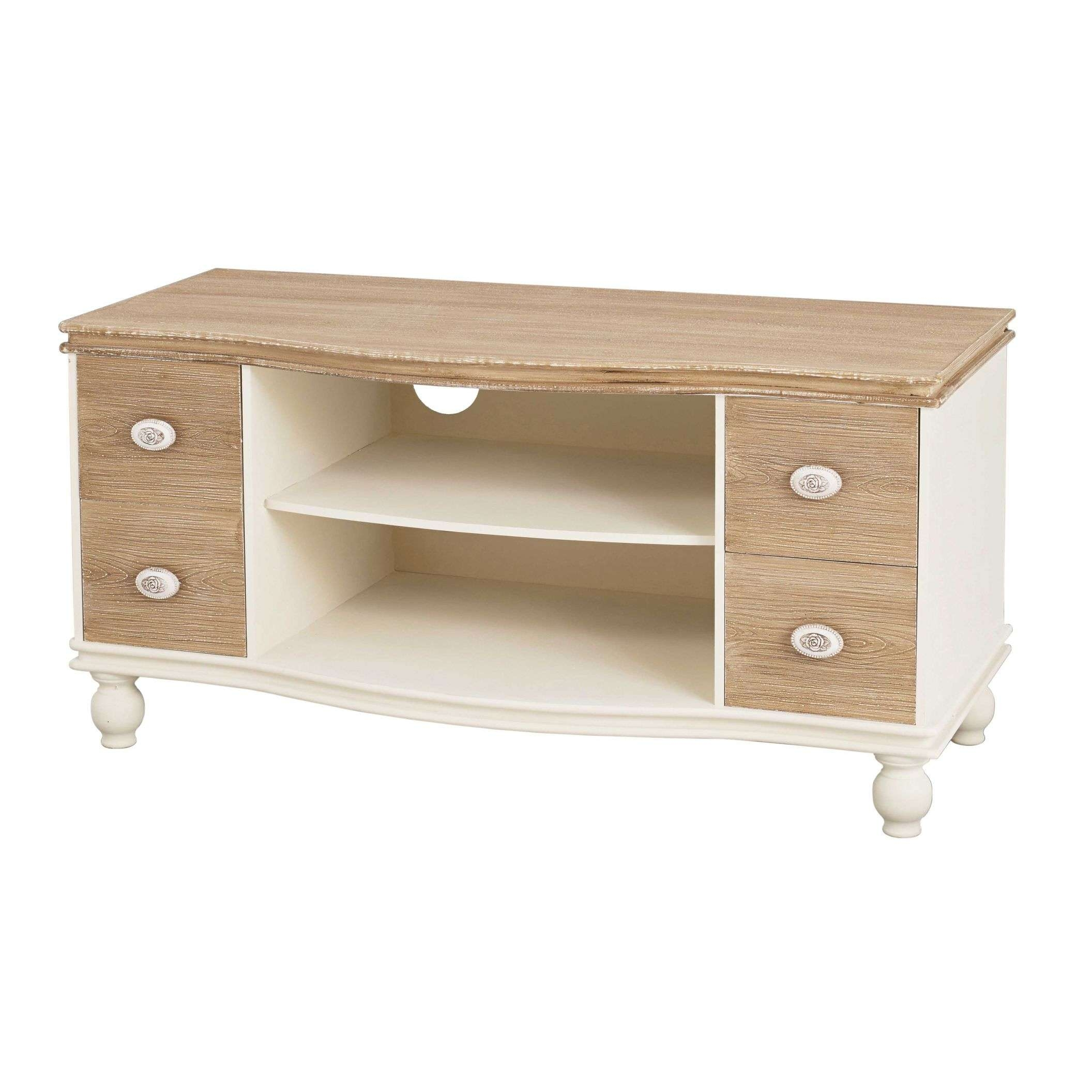 Juliette Shabby Chic Tv Unit | French Style Furniture Throughout Shabby Chic Tv Cabinets (View 6 of 20)