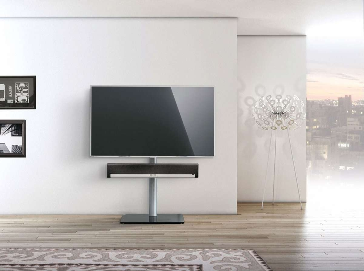 Just Racksspectral Tv600Sp Bg Tv Stands Regarding Sonos Tv Stands (Gallery 4 of 15)