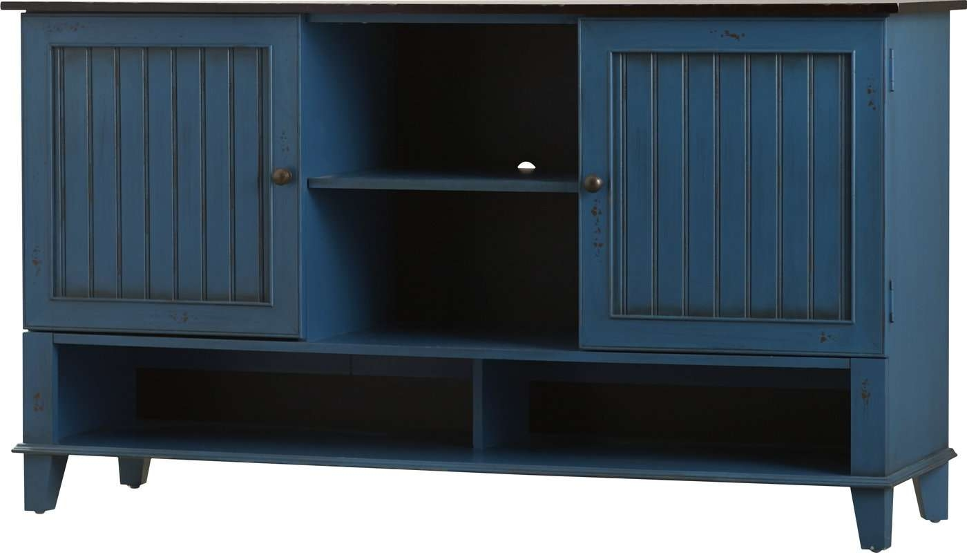 """Kathy Ireland Homemartin Furniture Eclectic Deluxe 60"""" Tv Intended For Sideboard Tv Stands (View 5 of 20)"""