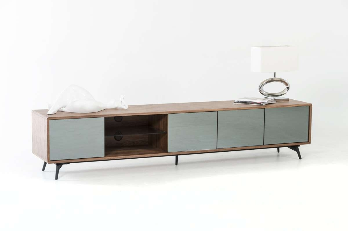 Kennedy Mid Century Walnut Tv Stand Within Modern Walnut Tv Stands (View 6 of 15)