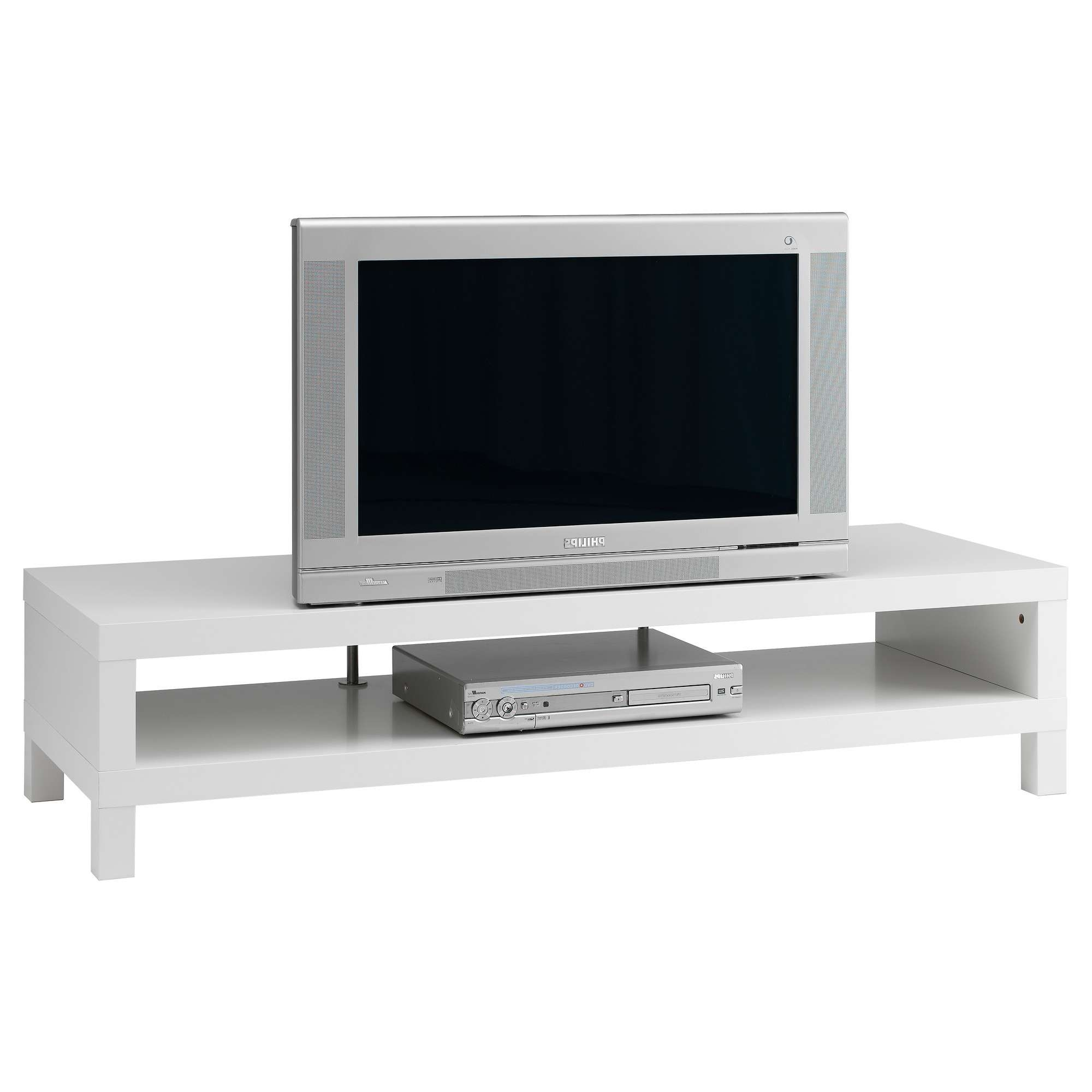 Lack Tv Bench White 149x55 Cm – Ikea With Regard To Bench Tv Stands (View 3 of 15)