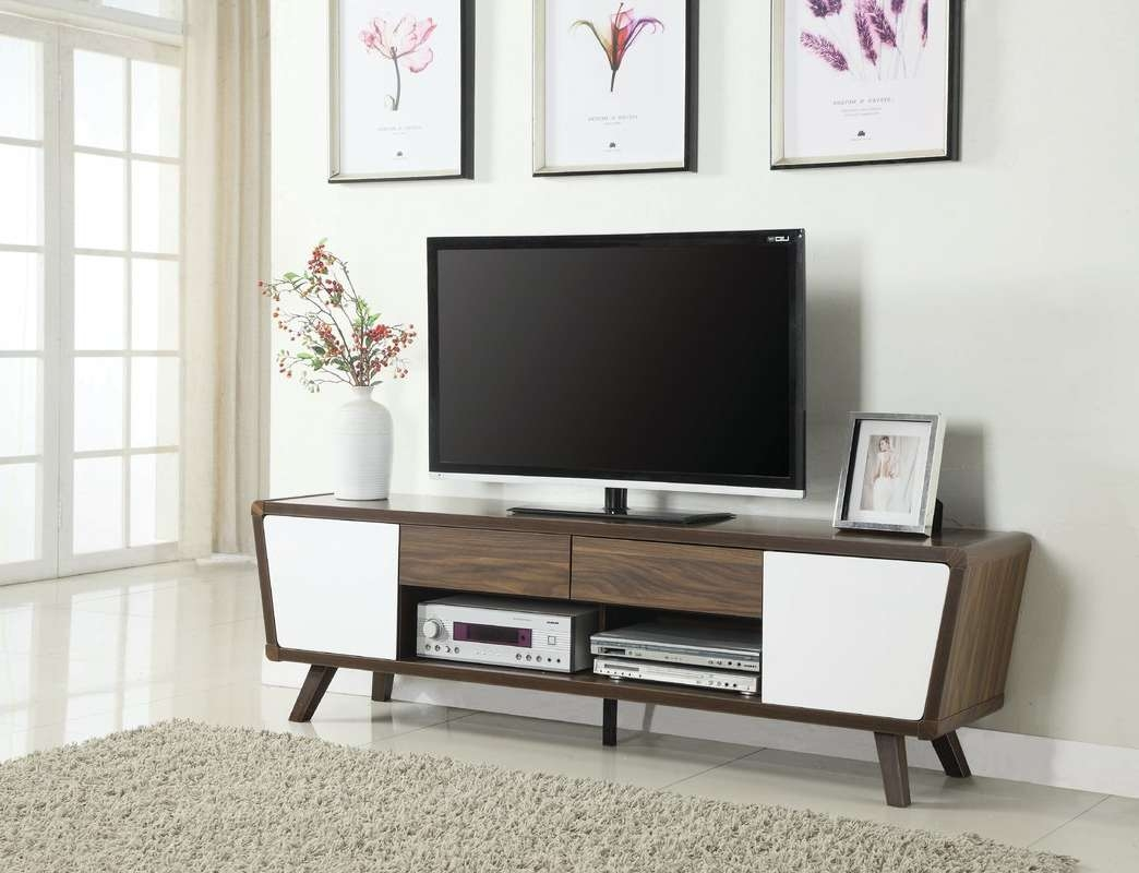 Langley Street Dormer Modern Tv Stand & Reviews | Wayfair With Regard To Modern Tv Stands (View 5 of 15)