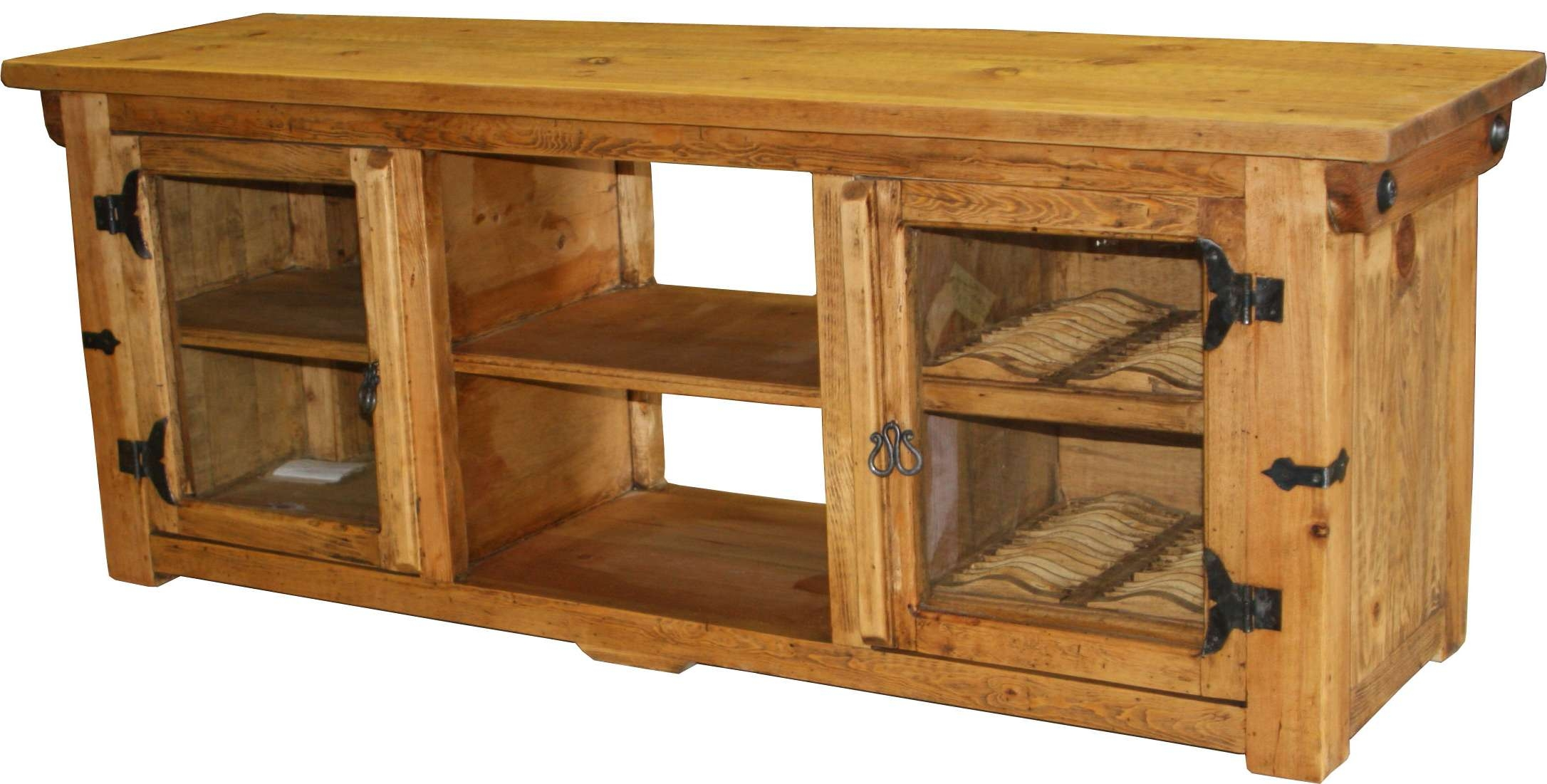 Lauro Tv Stand @ Durango Trail Rustic Furniture In Rustic Furniture Tv Stands (View 4 of 20)