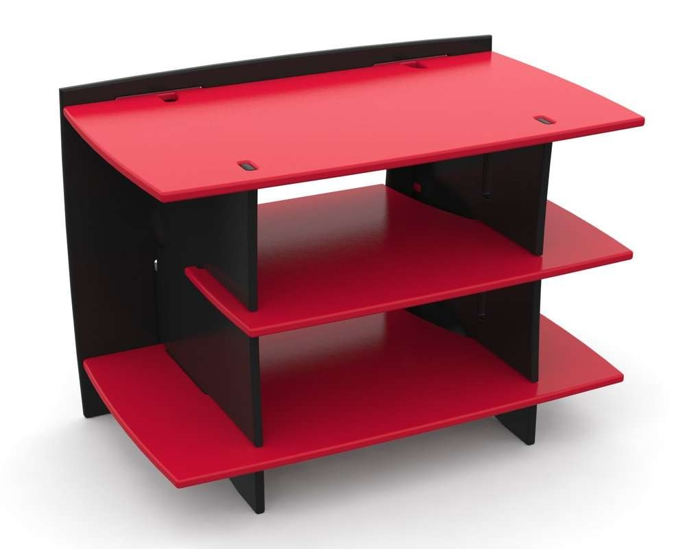 """Legare Furniture Red Race Kid's Gaming 33"""" Tv Stand & Reviews With Red Tv Stands (View 6 of 15)"""