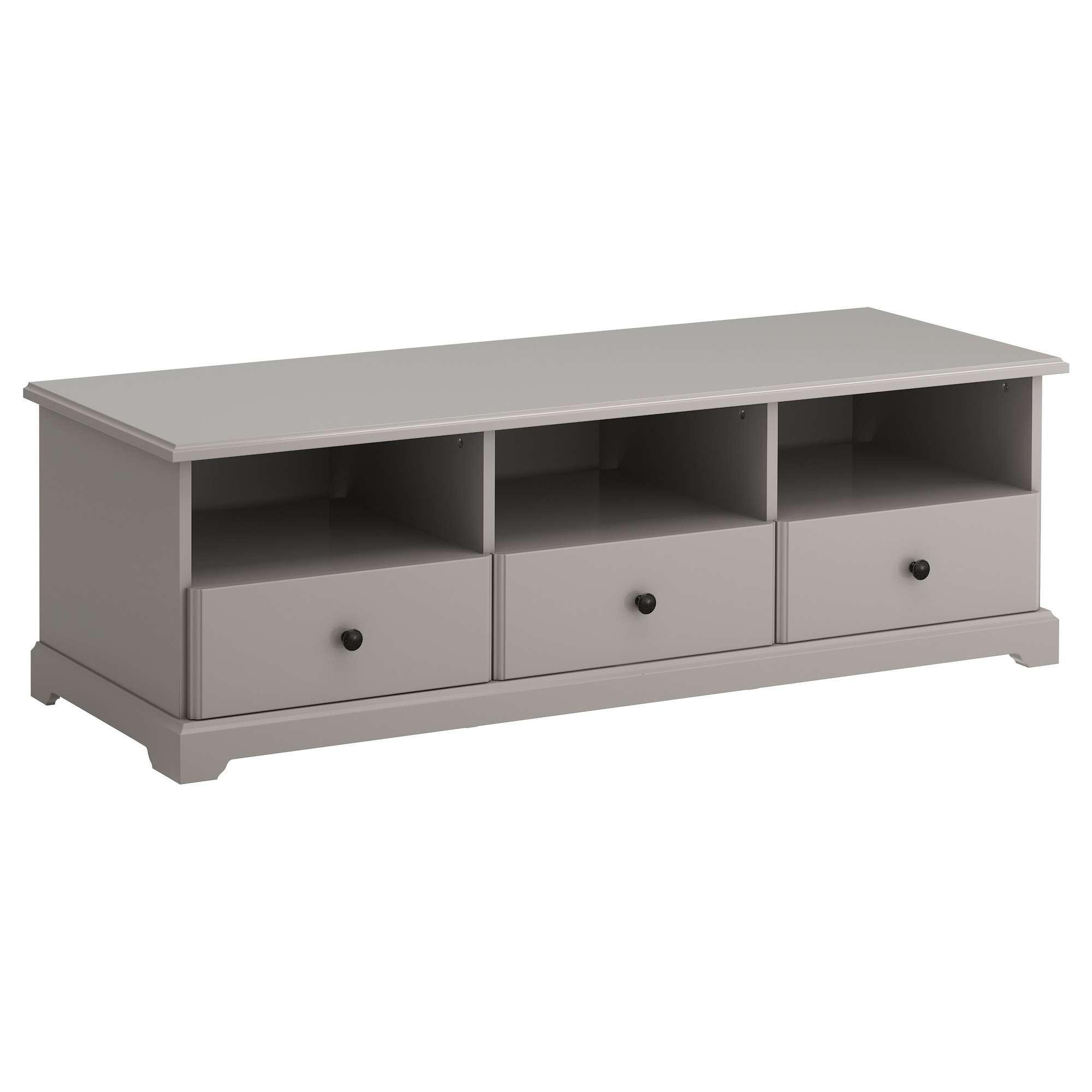 Liatorp Tv Bench Grey 145x49x45 Cm – Ikea Inside Tv Stands At Ikea (View 3 of 15)